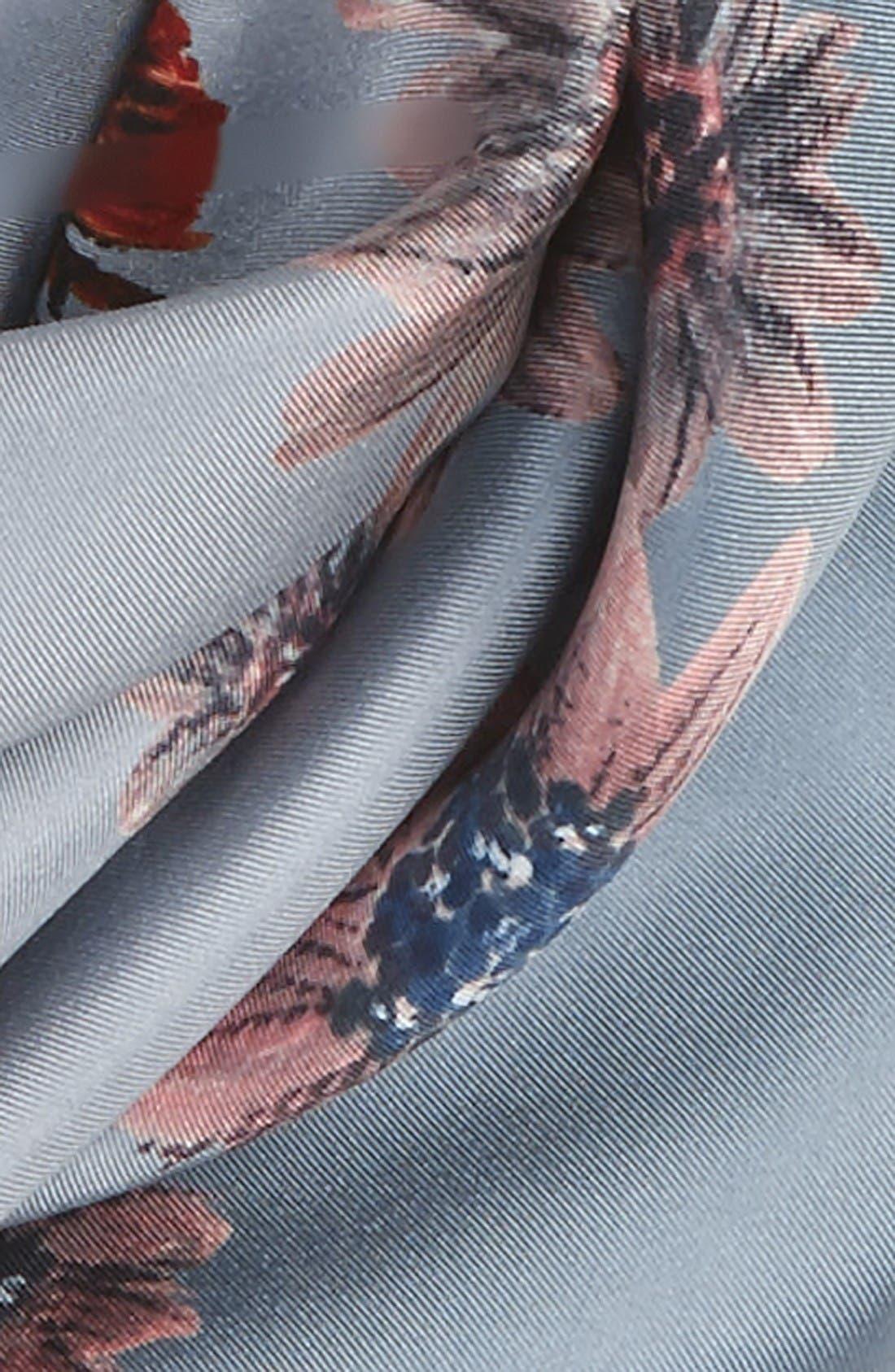 Alternate Image 3  - Valentino Mariposa Garden Silk Scarf