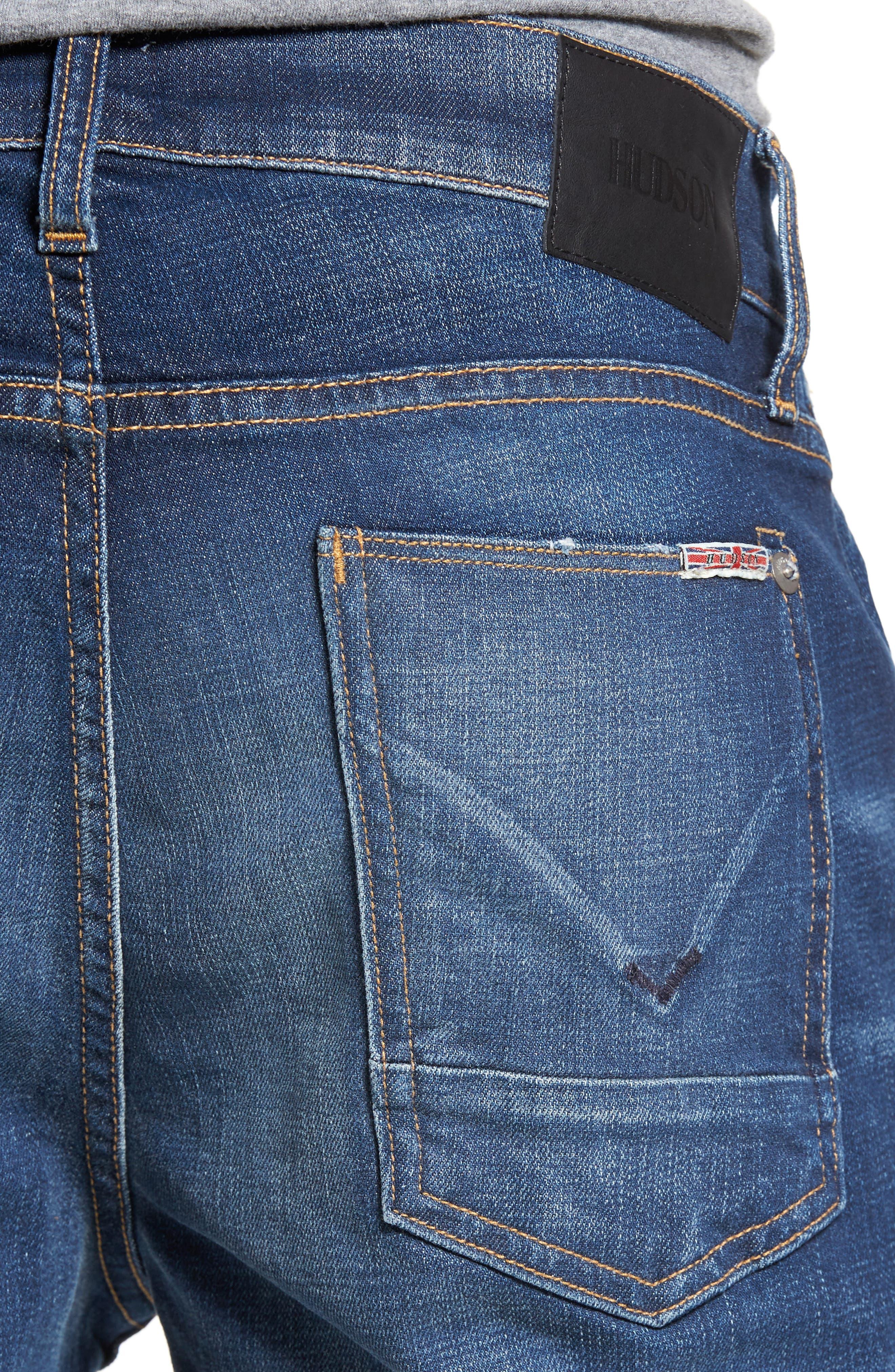 Blake Slim Fit Jeans,                             Alternate thumbnail 4, color,                             Genuine