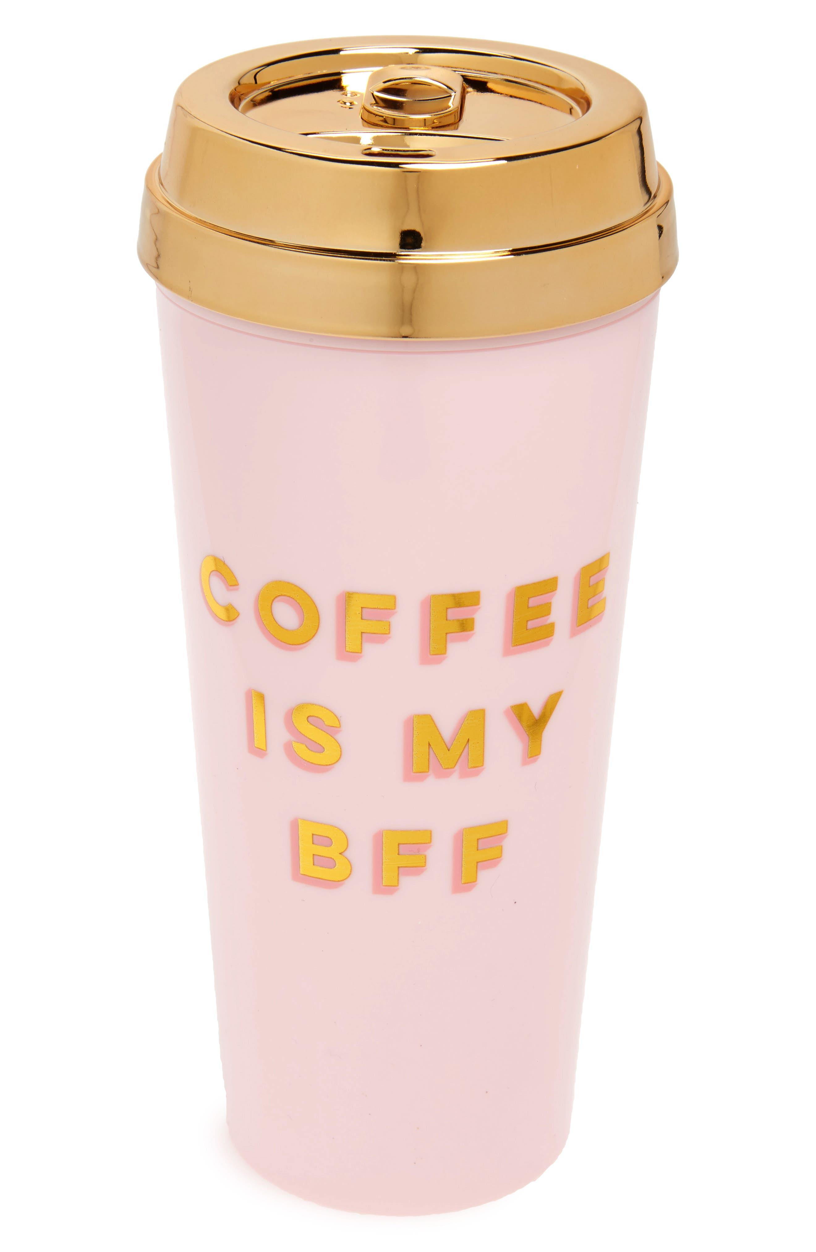 BFF Deluxe Thermal Travel Mug,                             Main thumbnail 1, color,                             Pink