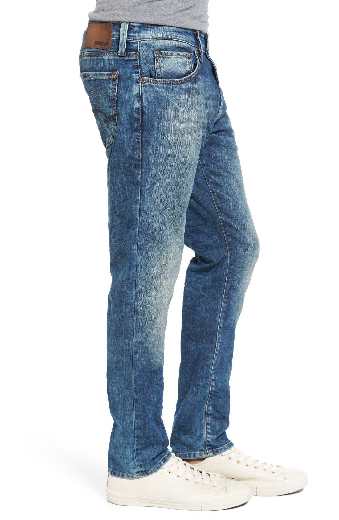 Jake Easy Slim Fit Jeans,                             Alternate thumbnail 3, color,                             Random Extreme Vintage