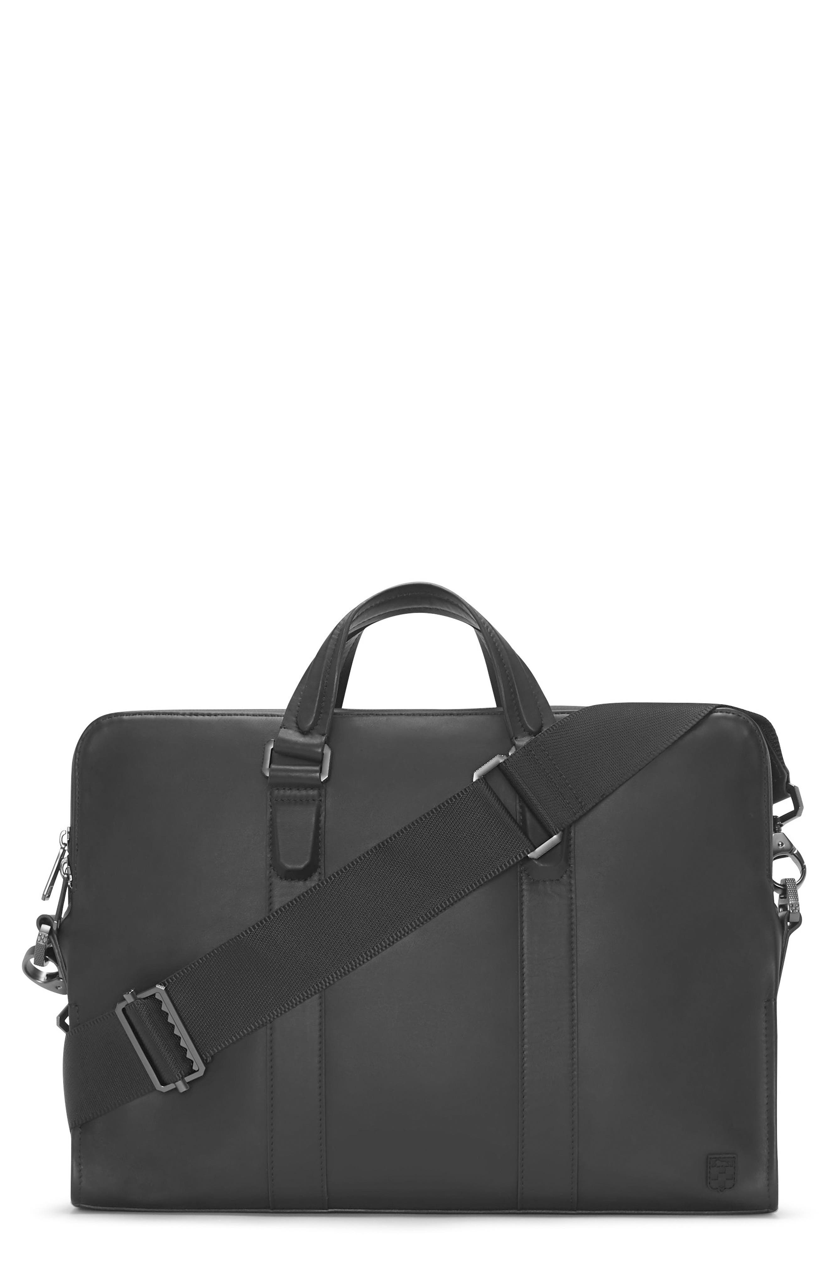 Alternate Image 1 Selected - Vince Camuto Dopia Leather Briefcase
