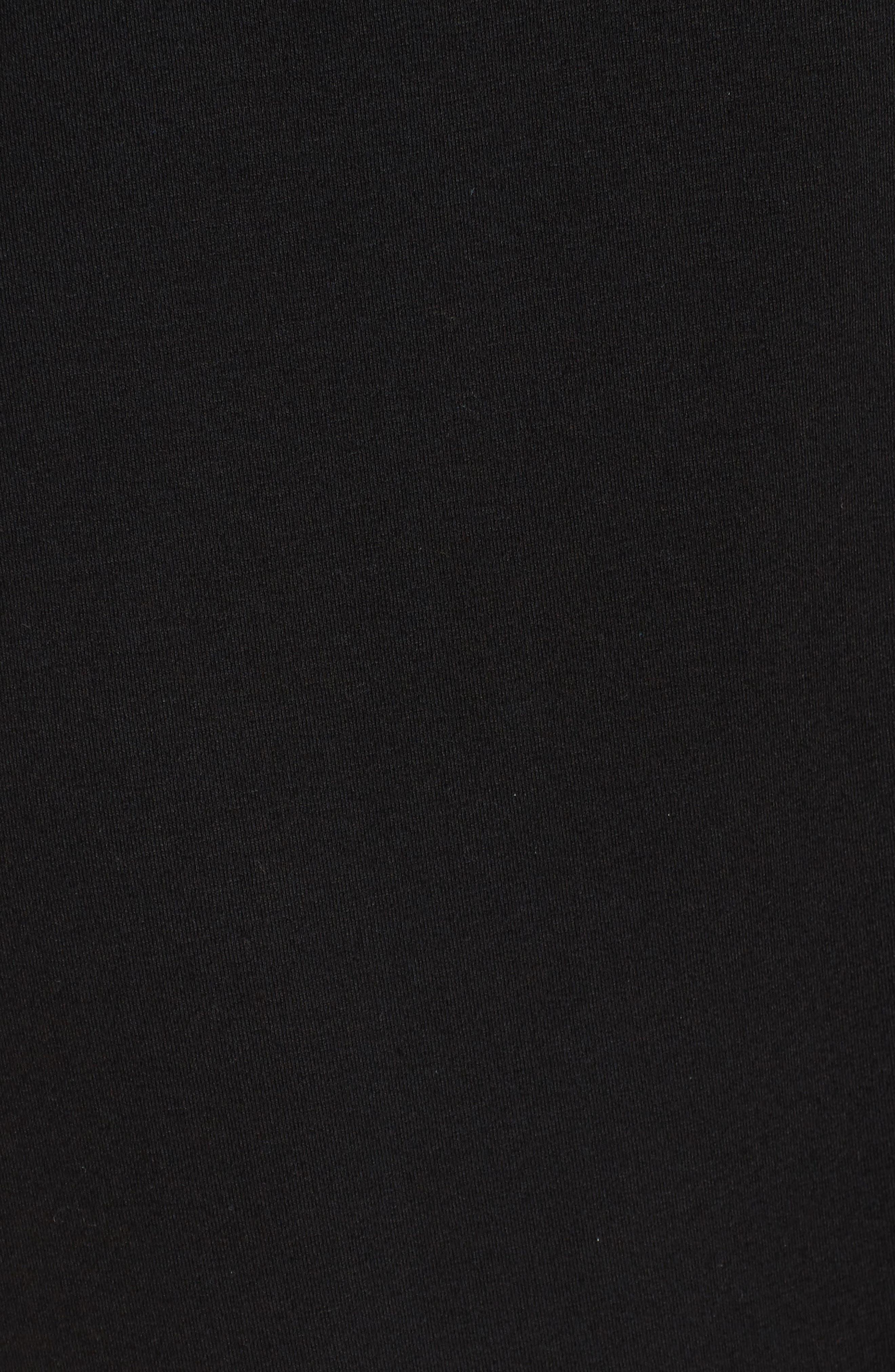 Alternate Image 5  - Eileen Fisher Mandarin Collar Jersey Shirtdress (Regular & Petite)
