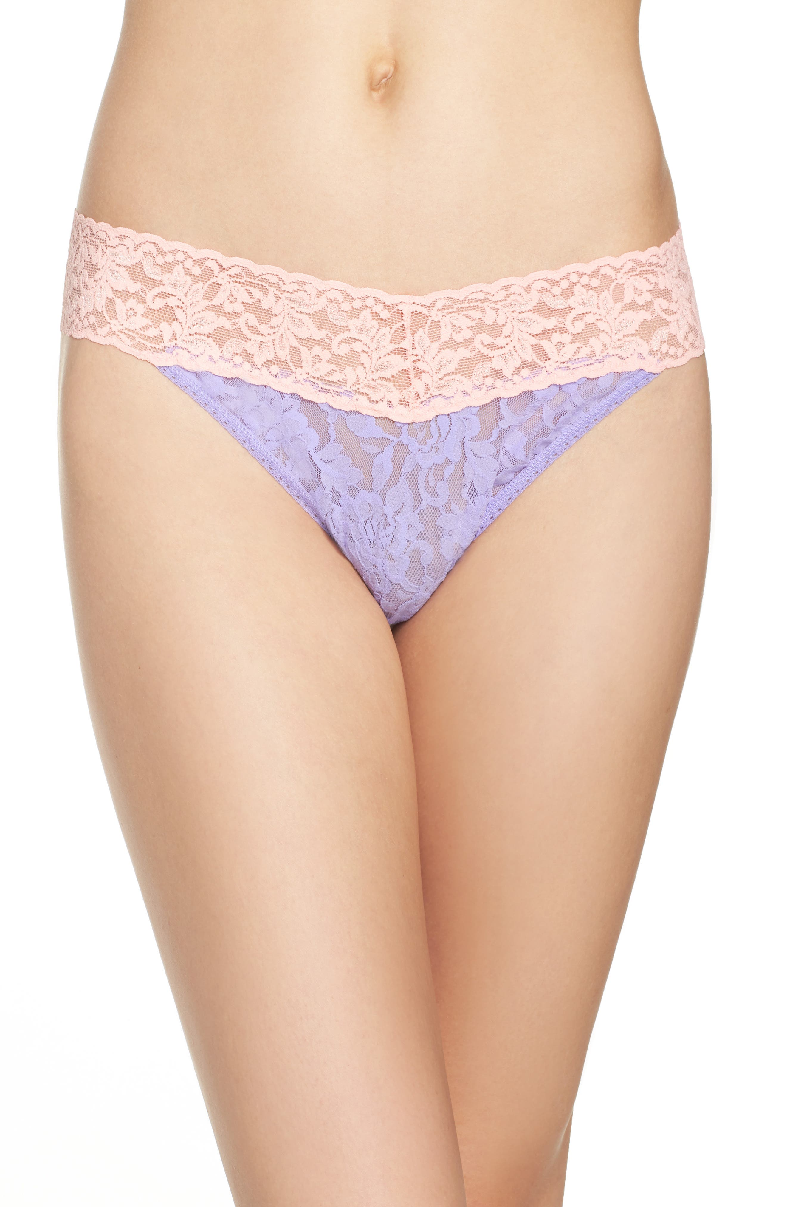 Alternate Image 1 Selected - Hanky Panky 'Colorplay' Regular Rise Thong