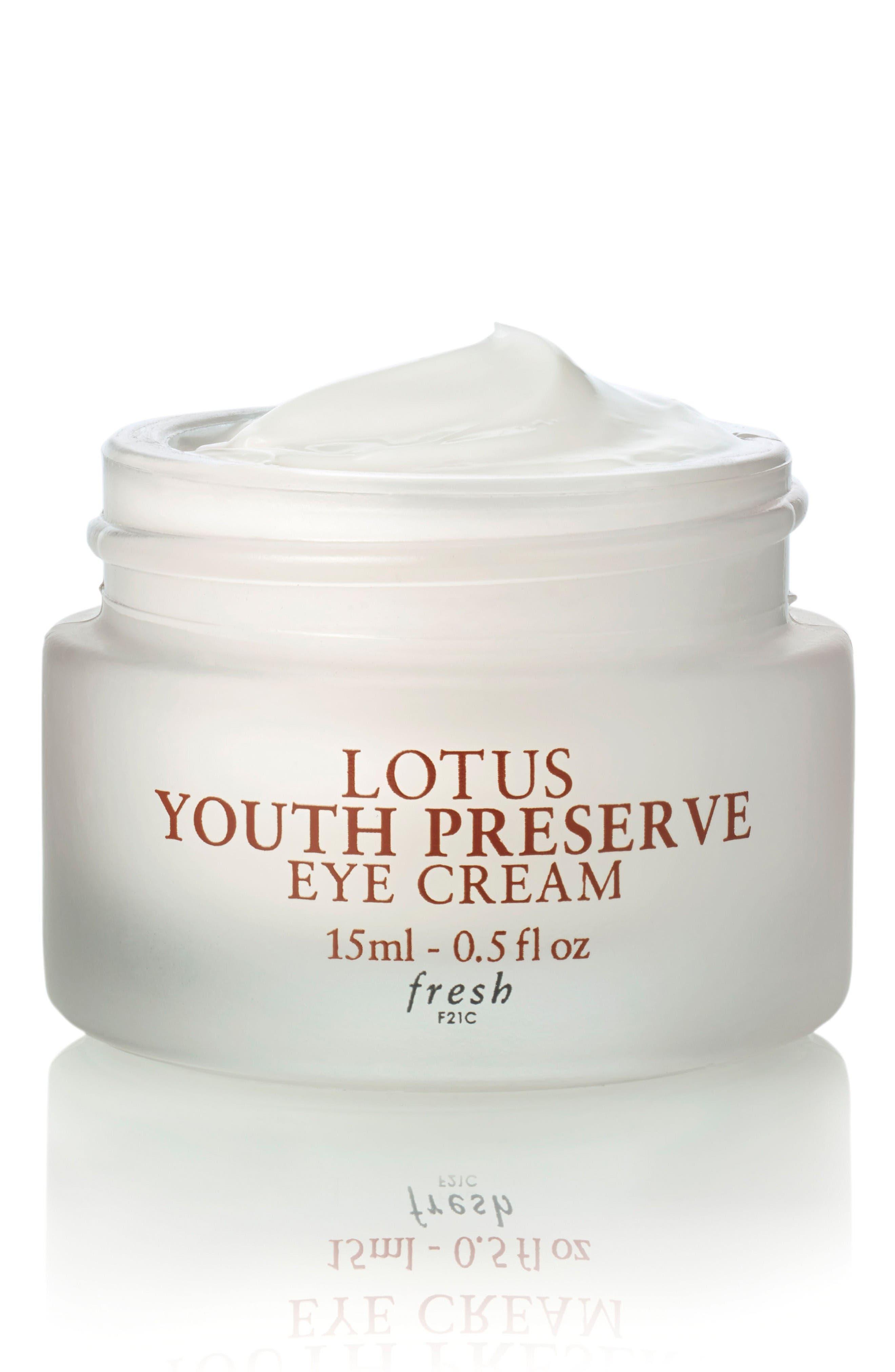 Lotus Youth Preserve Eye Cream,                             Main thumbnail 1, color,                             No Color