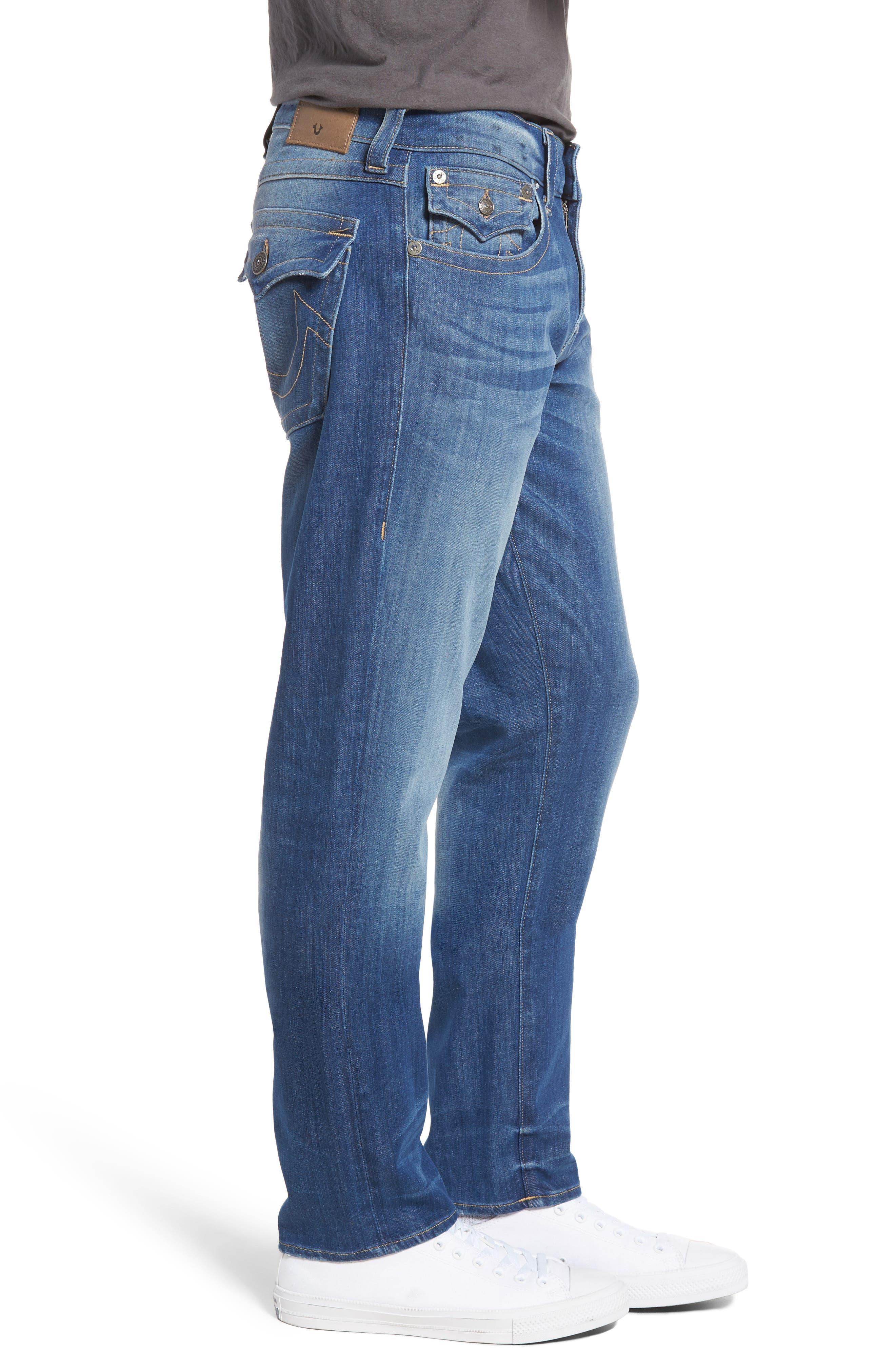 Alternate Image 3  - True Religion Brand Jeans Geno Straight Leg Jeans (Sun Faded)