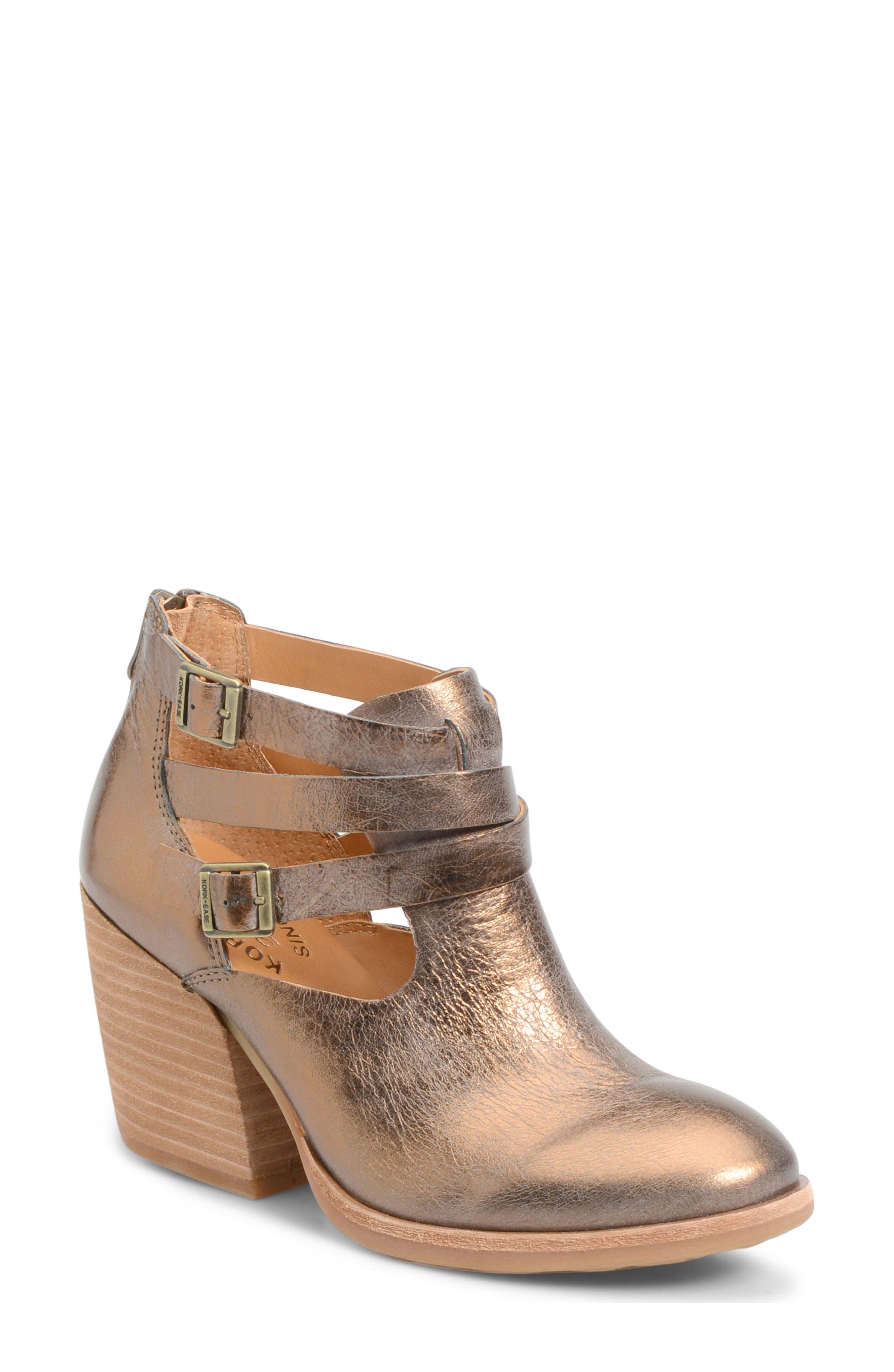 Kork-Ease® 'Stina' Leather Bootie (Women)