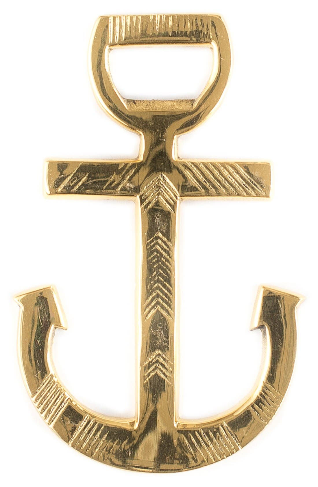 Admiral Bottle Opener,                         Main,                         color, Gold