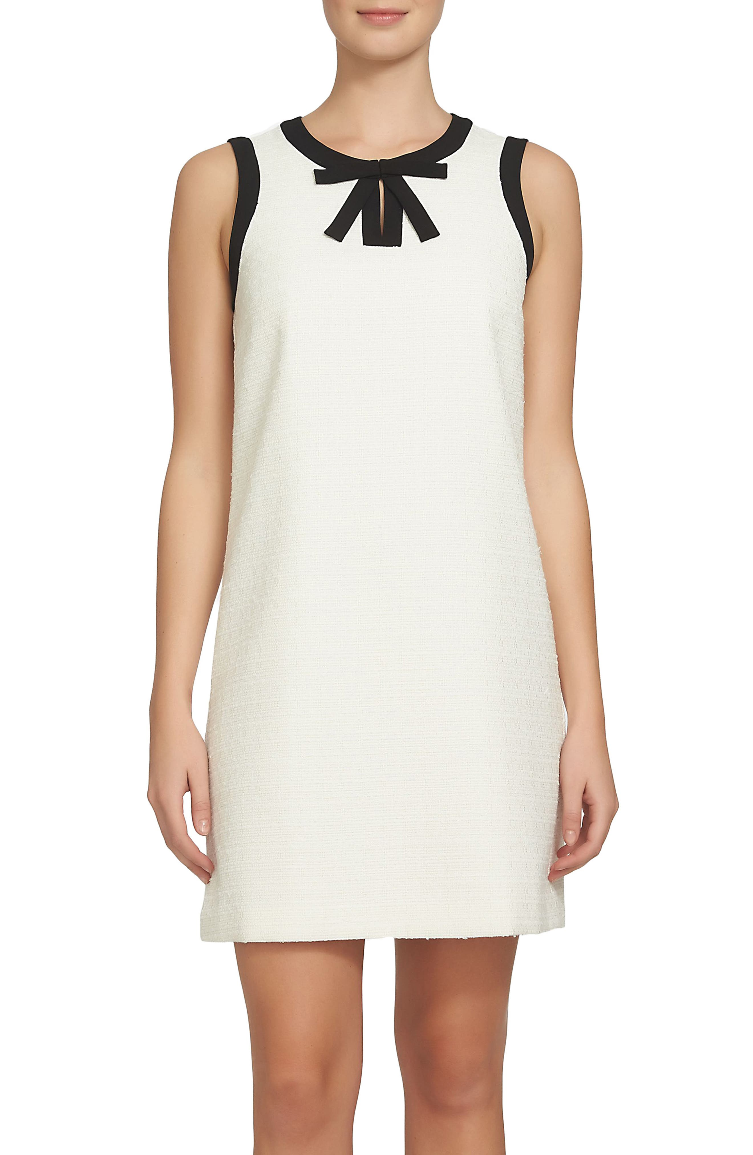 Camilla Shift Dress,                             Main thumbnail 1, color,                             New Ivory