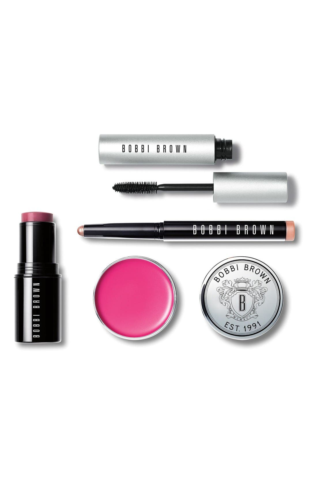 Alternate Image 2  - Bobbi Brown Style File Off Duty Eye, Cheek & Lip Kit (Nordstrom Exclusive) ($140 value)
