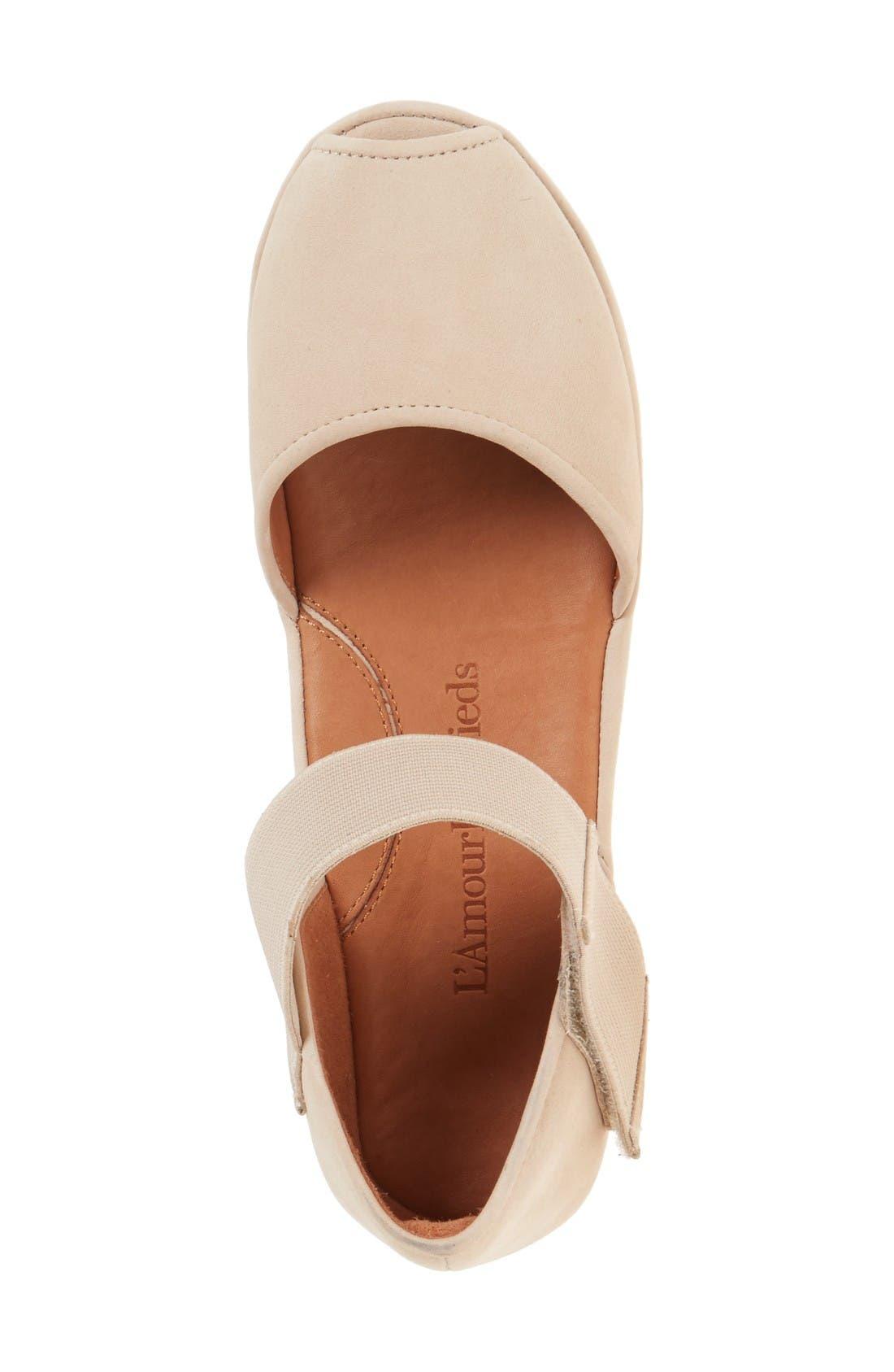 Alternate Image 3  - L'Amour des Pieds 'Amadour' Platform Sandal (Women)