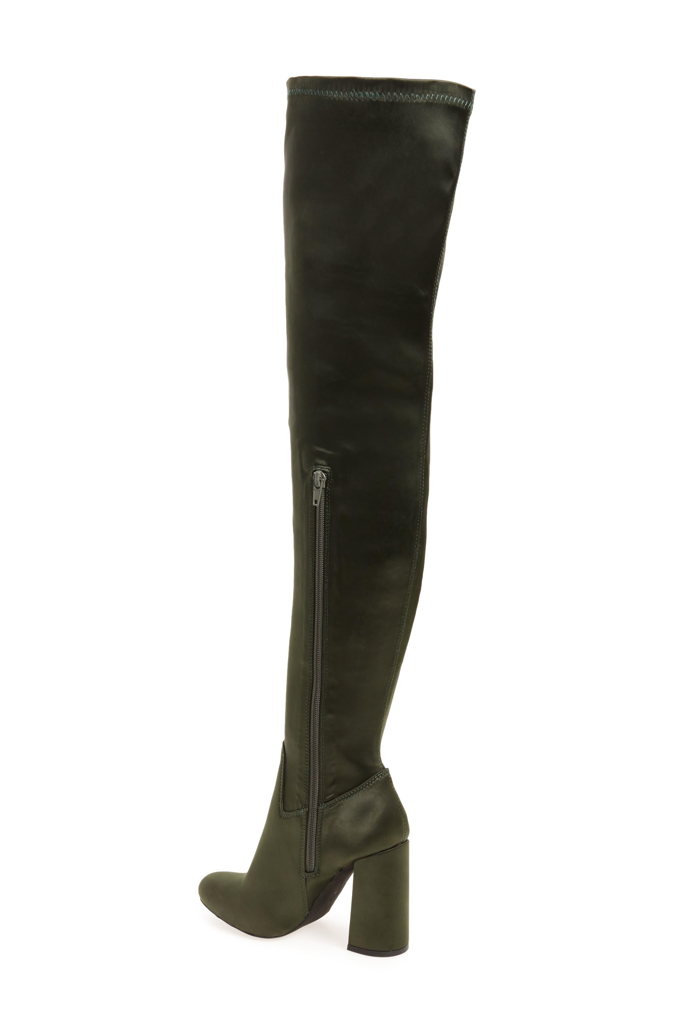 Alternate Image 2  - Jeffrey Campbell Perouze 2 Thigh High Stretch Boot (Women)