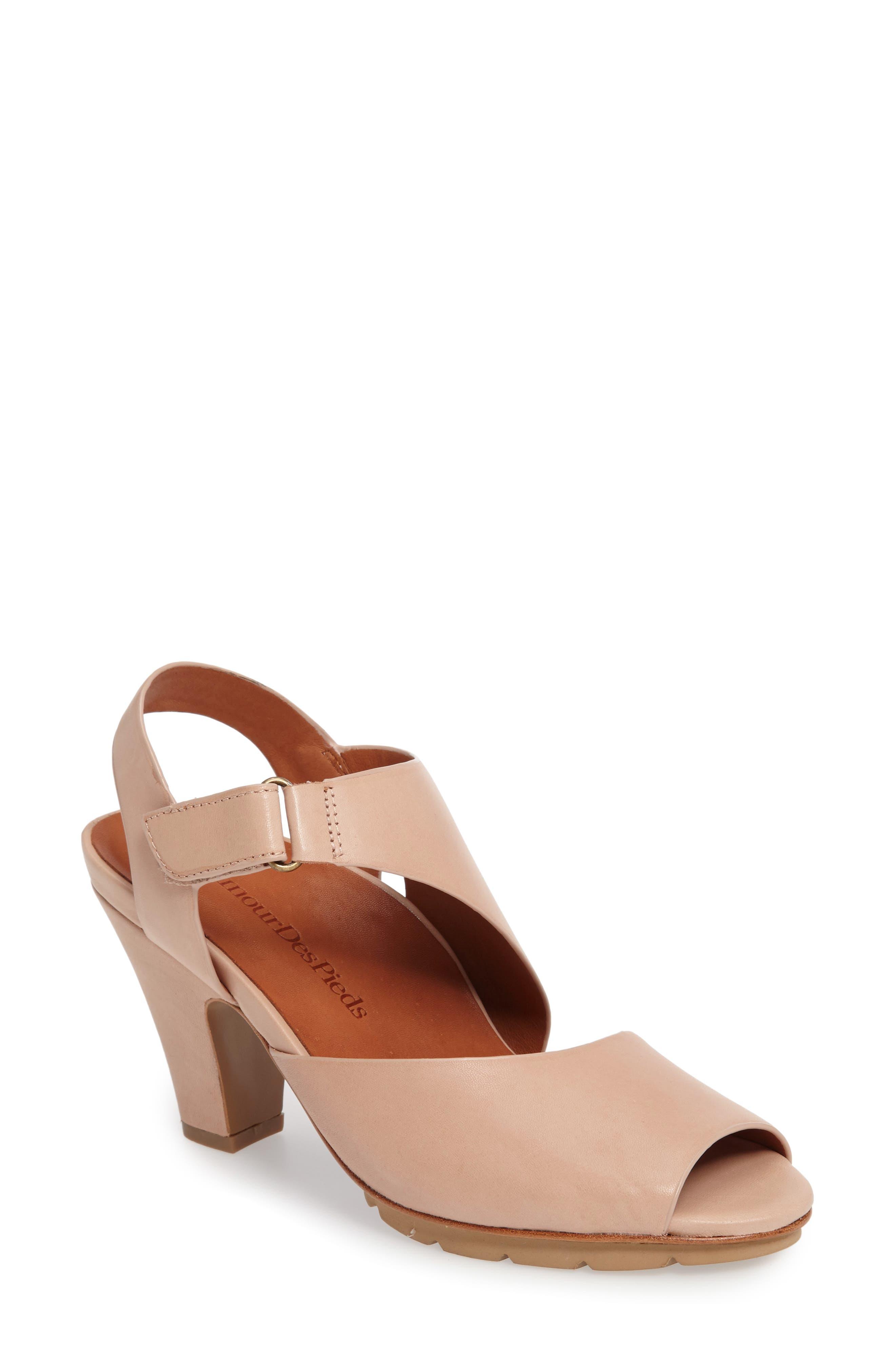 LAMOUR DES PIEDS Foires Asymmetrical Slingback Sandal