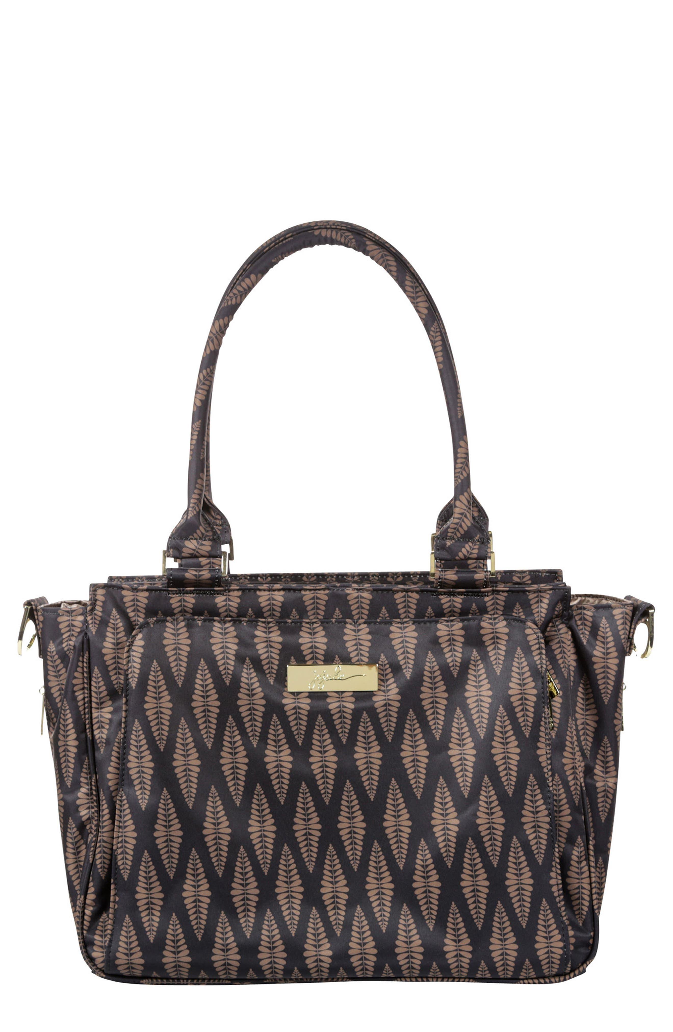 'Be Classy' Messenger Diaper Bag,                         Main,                         color, The Versailles
