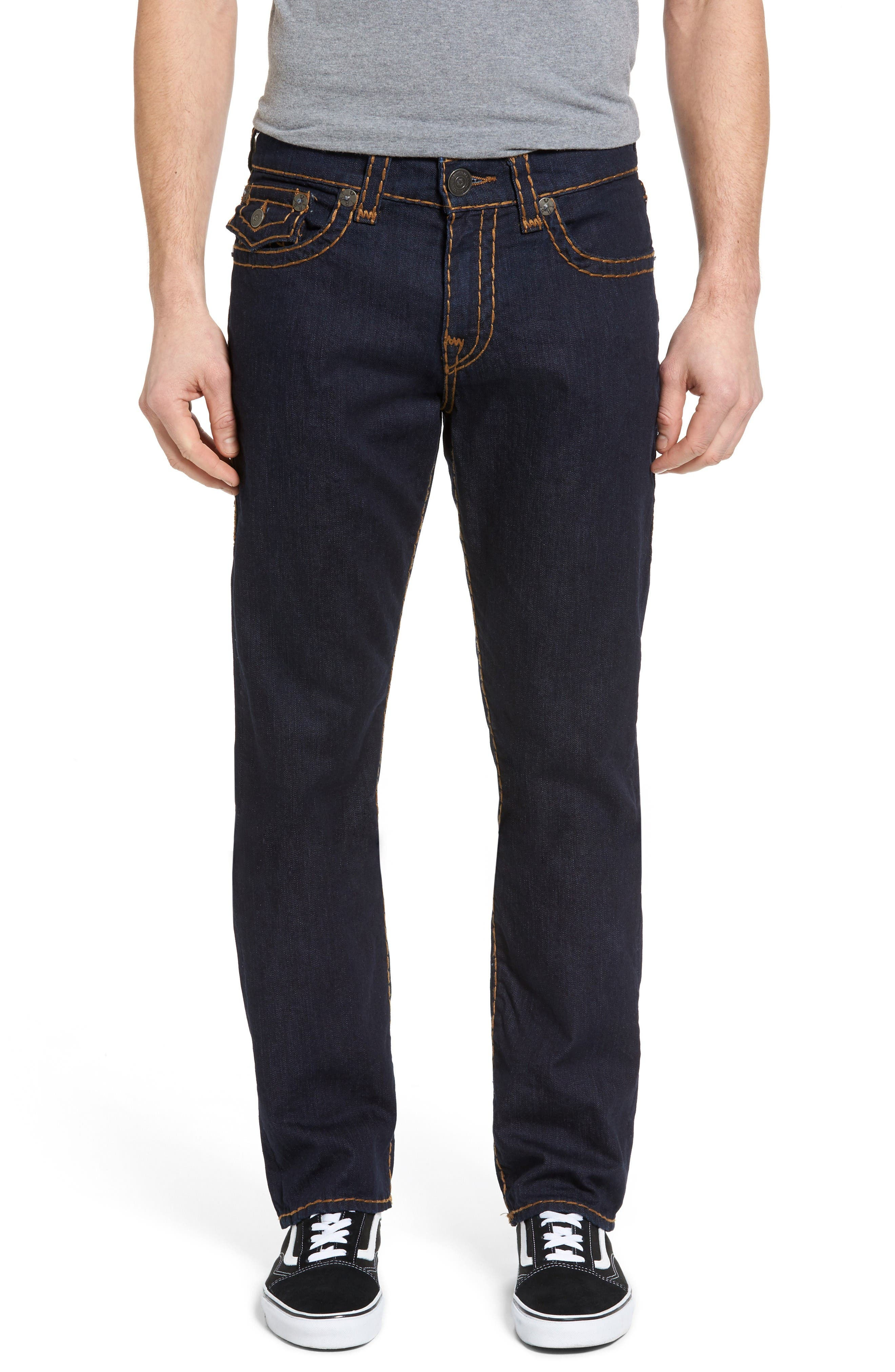 Alternate Image 1 Selected - True Religion Brand Jeans Ricky Relaxed Fit Jeans (Body Rinse)
