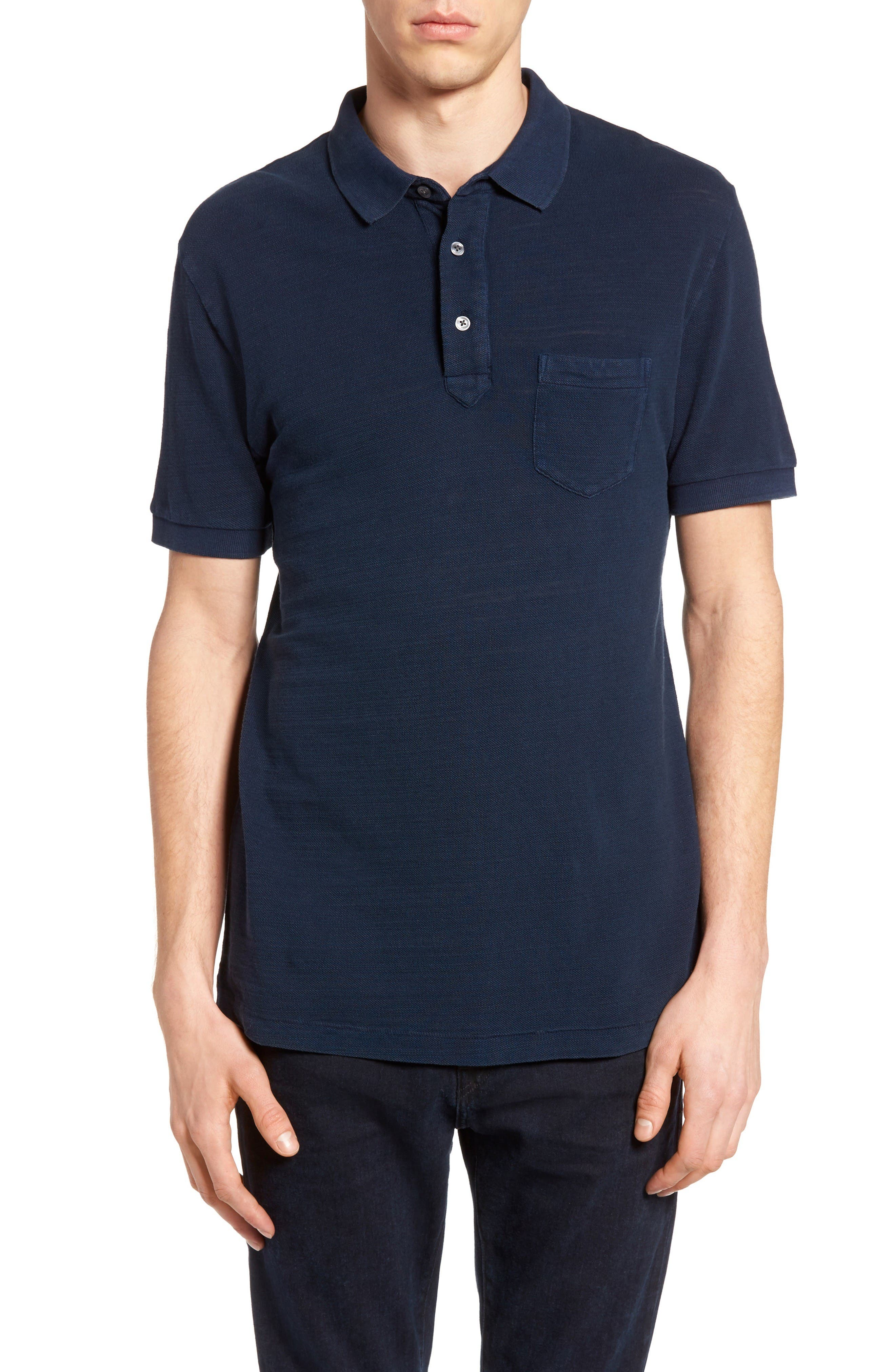 Main Image - French Connection Slub Knit Polo