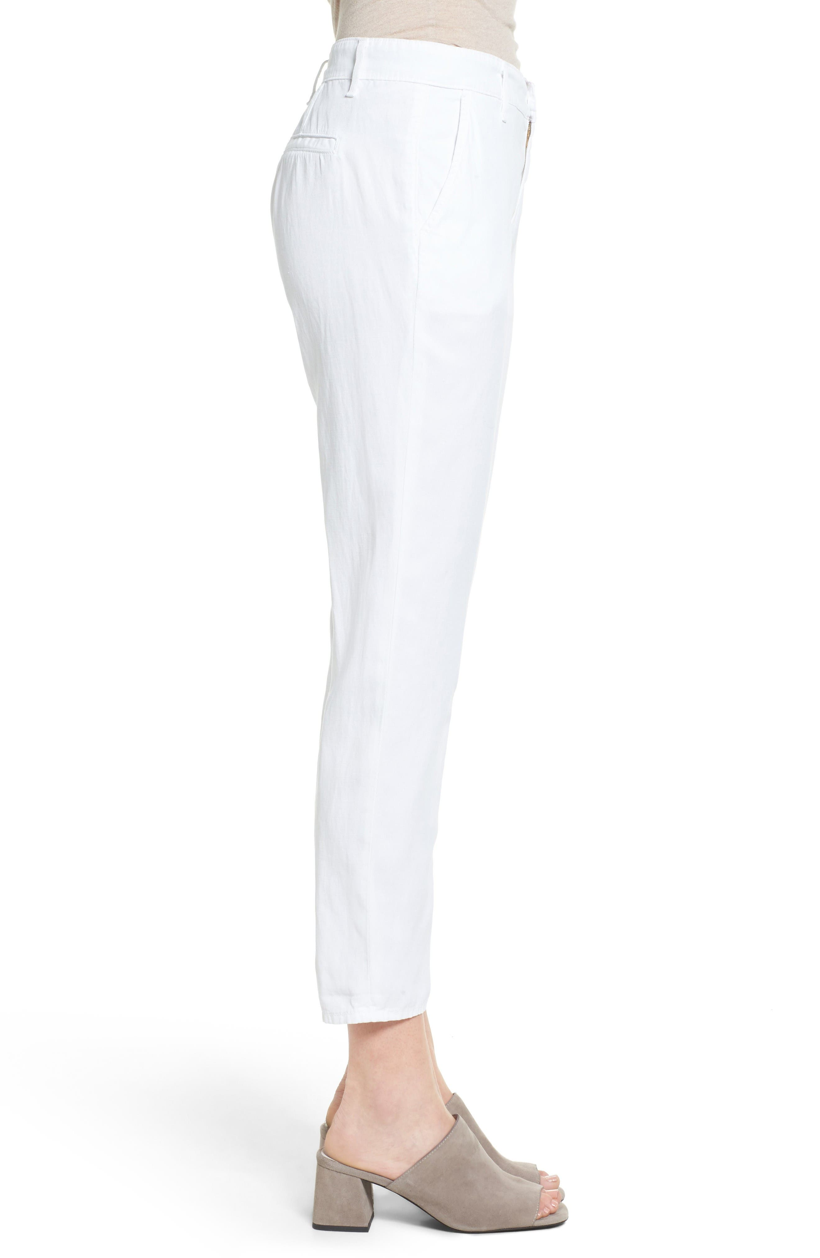 Alternate Image 3  - AG The Caden Crop Slim Trousers