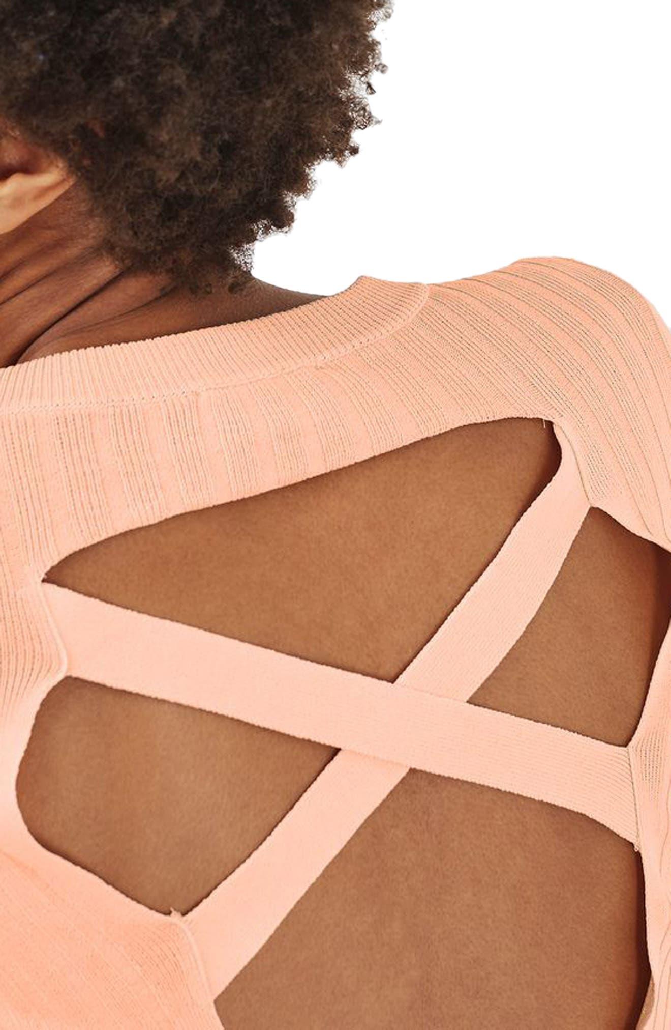 Alternate Image 5  - Topshop Strap Back Sweater