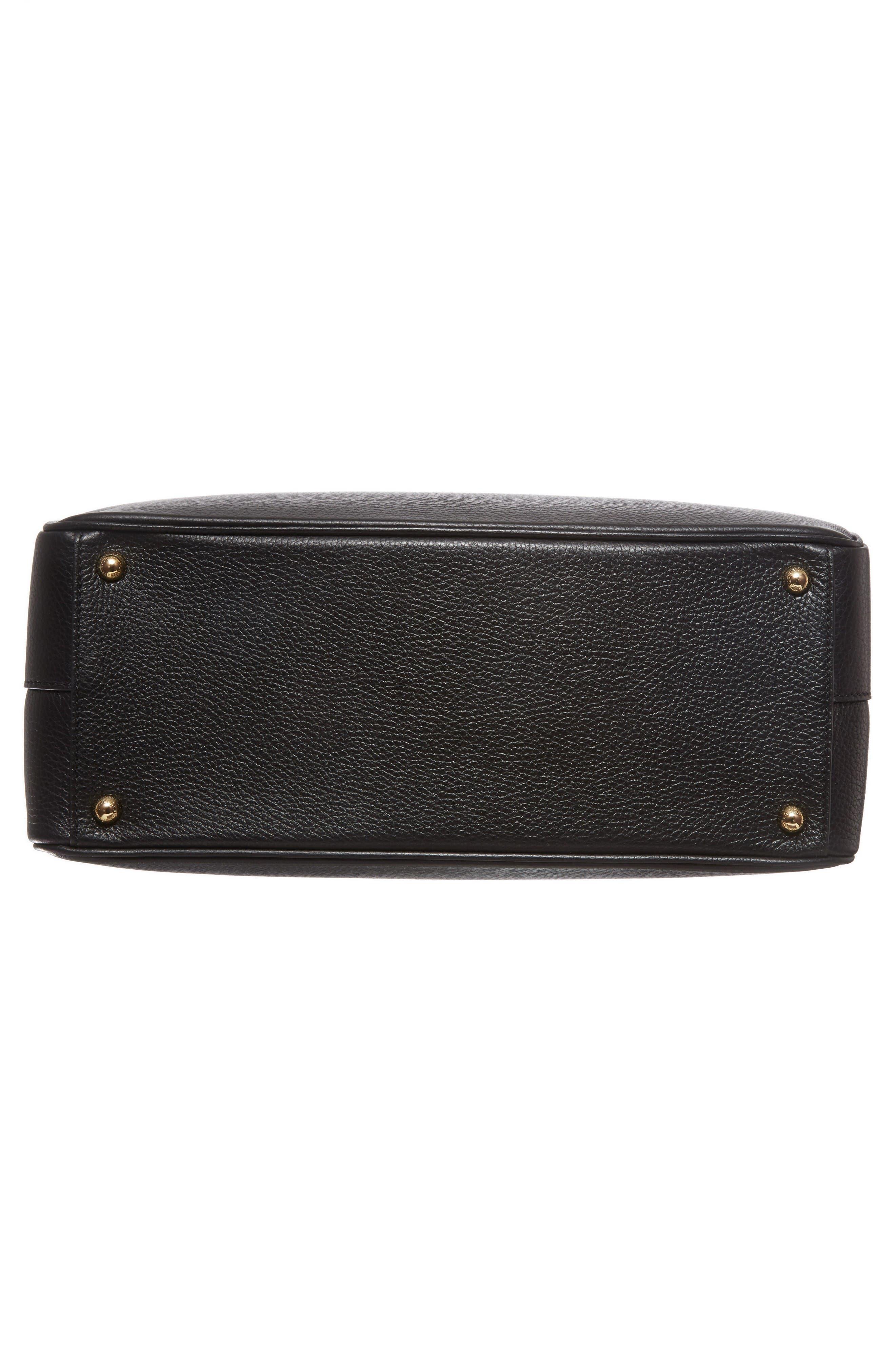Alternate Image 6  - Dolce&Gabbana Grained Leather Shopper