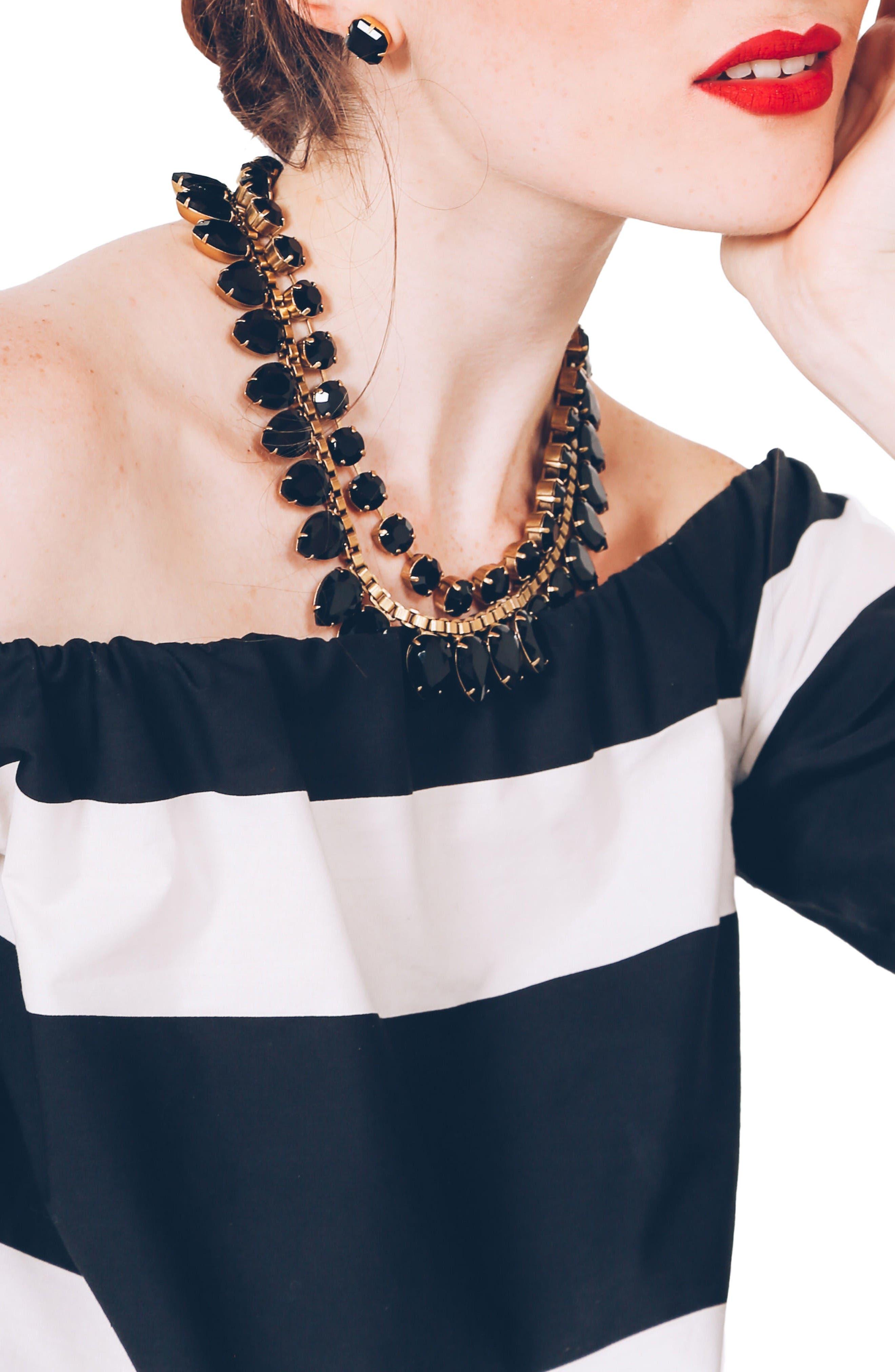 Alternate Image 3  - Loren Hope 'Sylvia' Crystal Collar Necklace