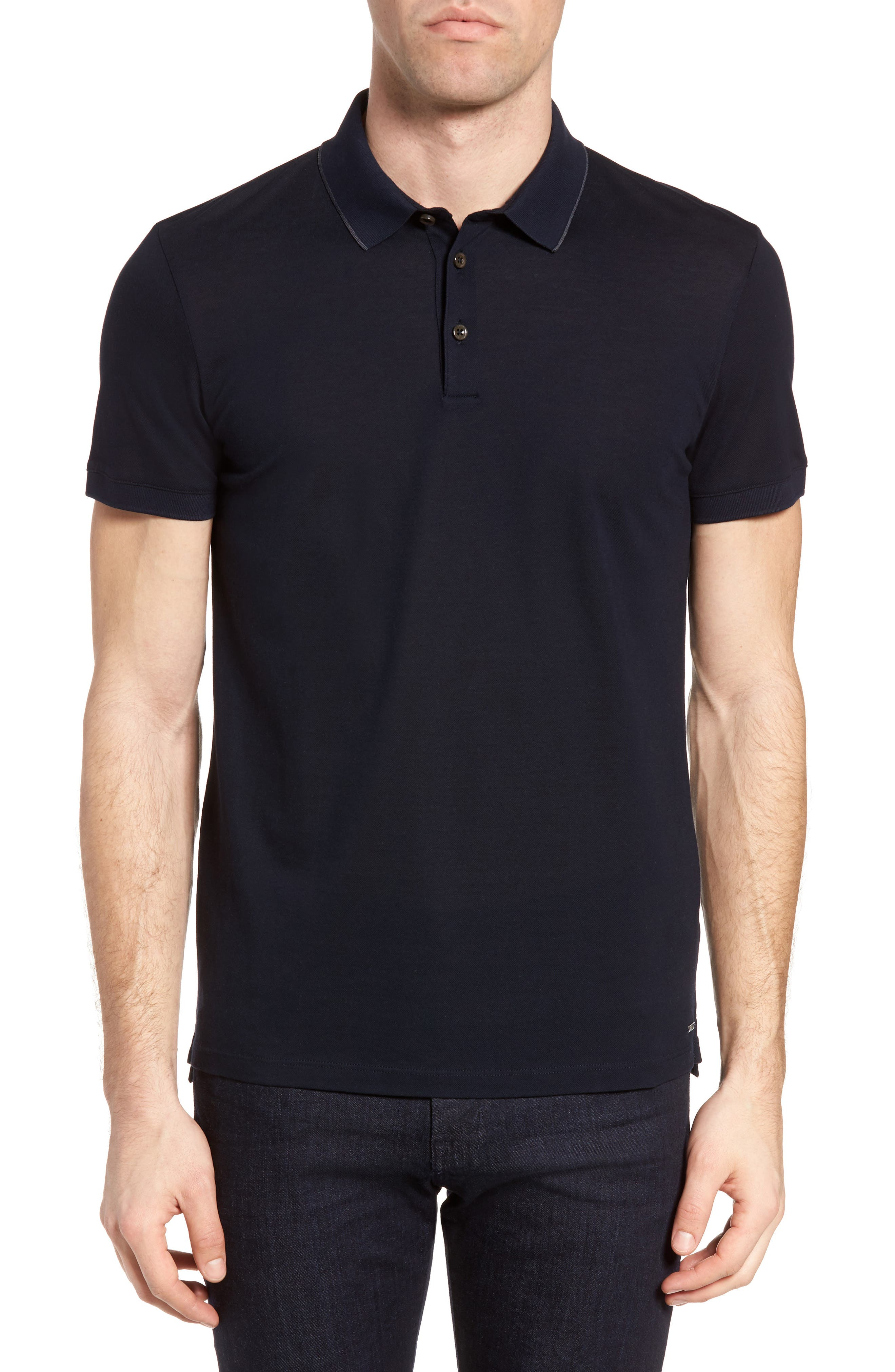 BOSS Penrose Mercerized Cotton Polo