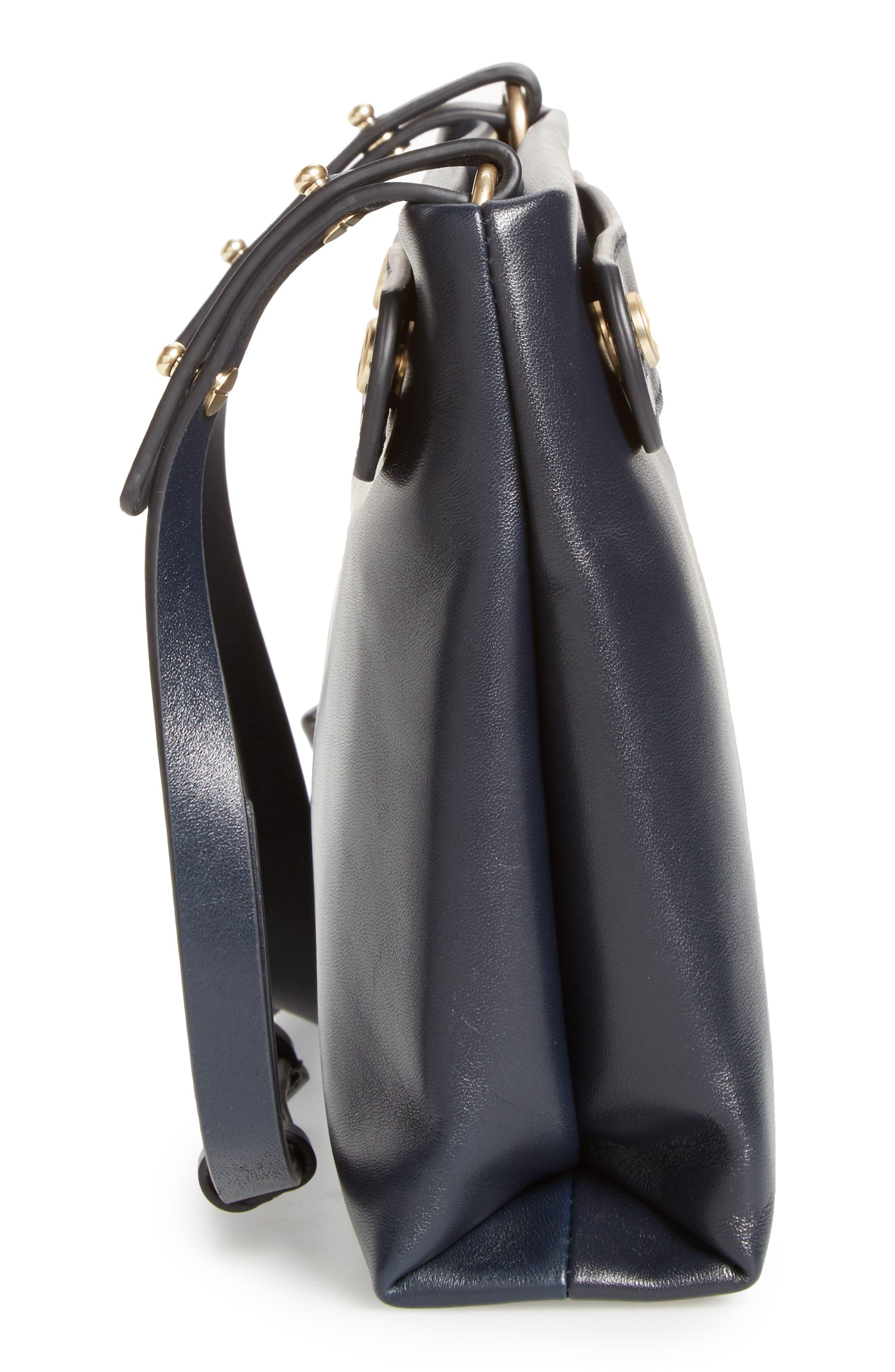 Alternate Image 5  - Skagen Mini Mikkeline Leather Satchel