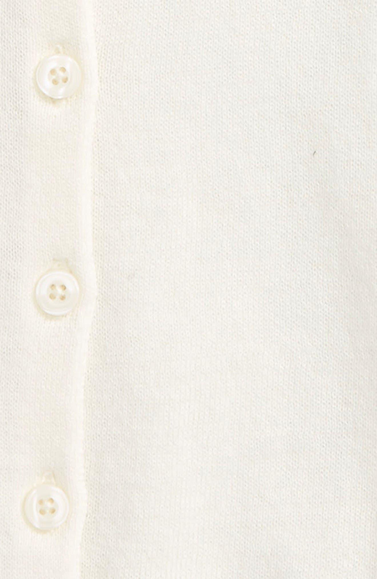 Cardigan,                             Alternate thumbnail 2, color,                             Ivory Egret
