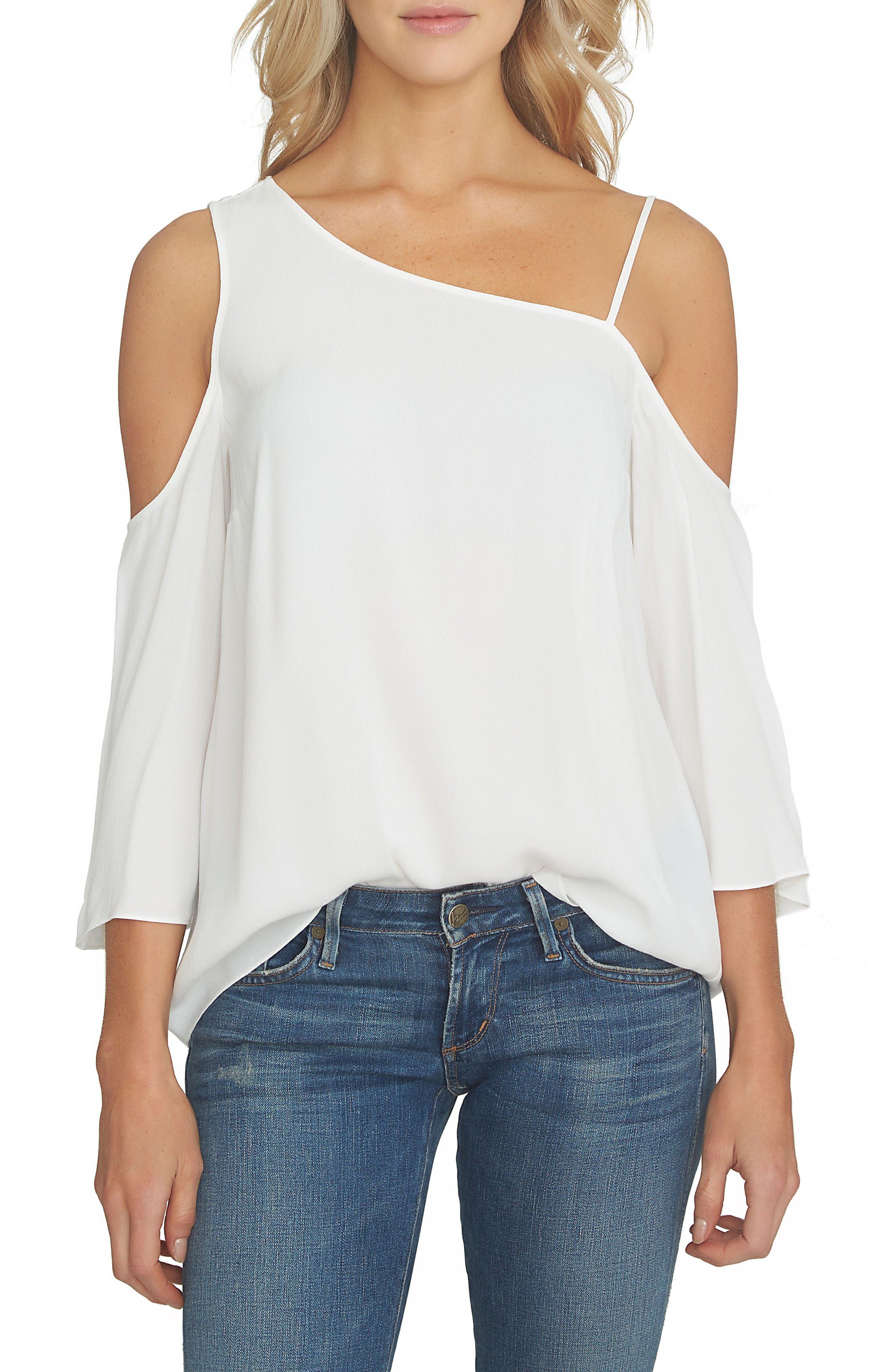 Alternate Image 1 Selected - 1.STATE One-Shoulder Top
