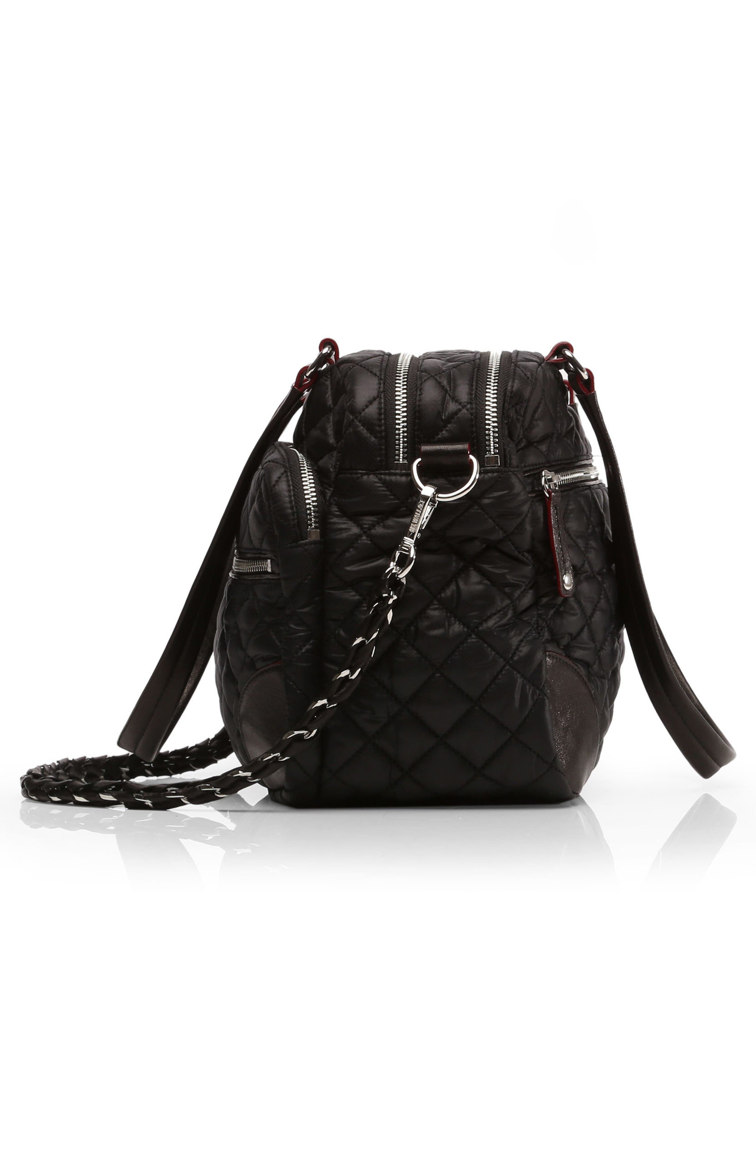 Alternate Image 4  - MZ Wallace Medium Crosby Quilted Oxford Nylon Crossbody Bag