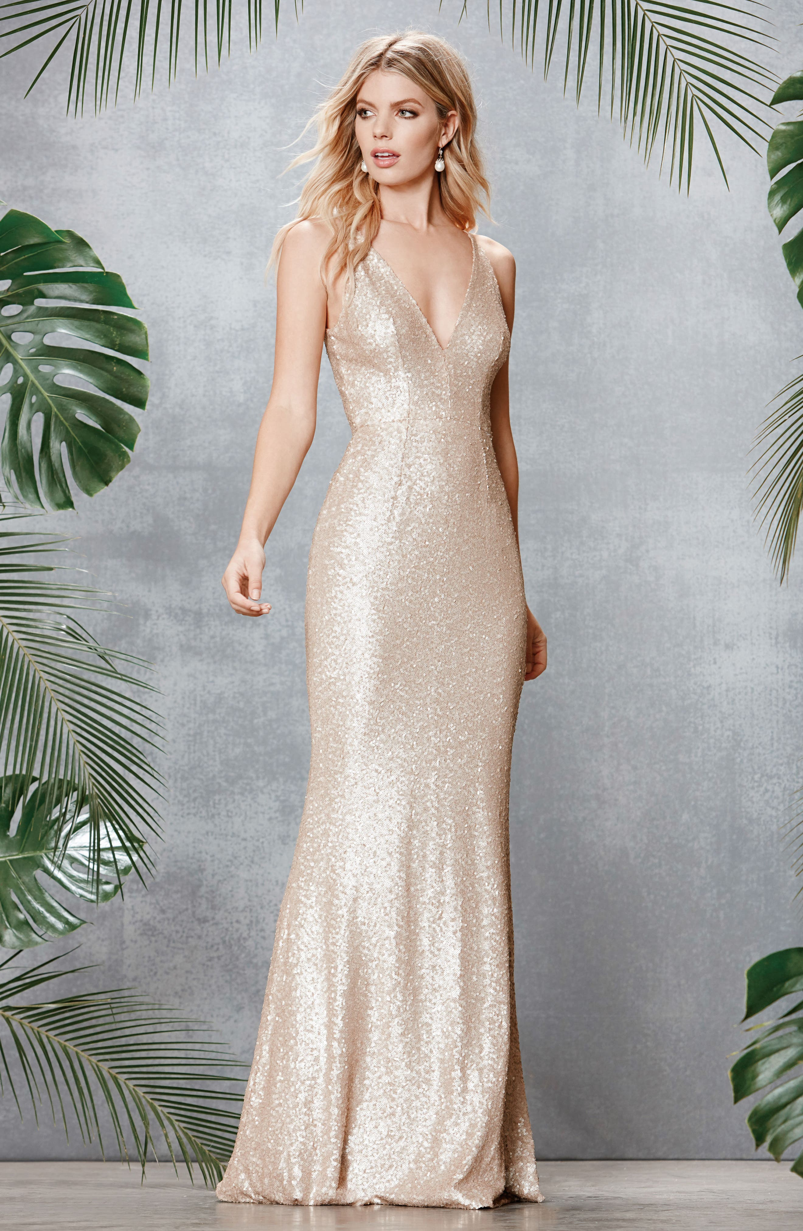 Metallic bridesmaid wedding party dresses nordstrom ombrellifo Image collections