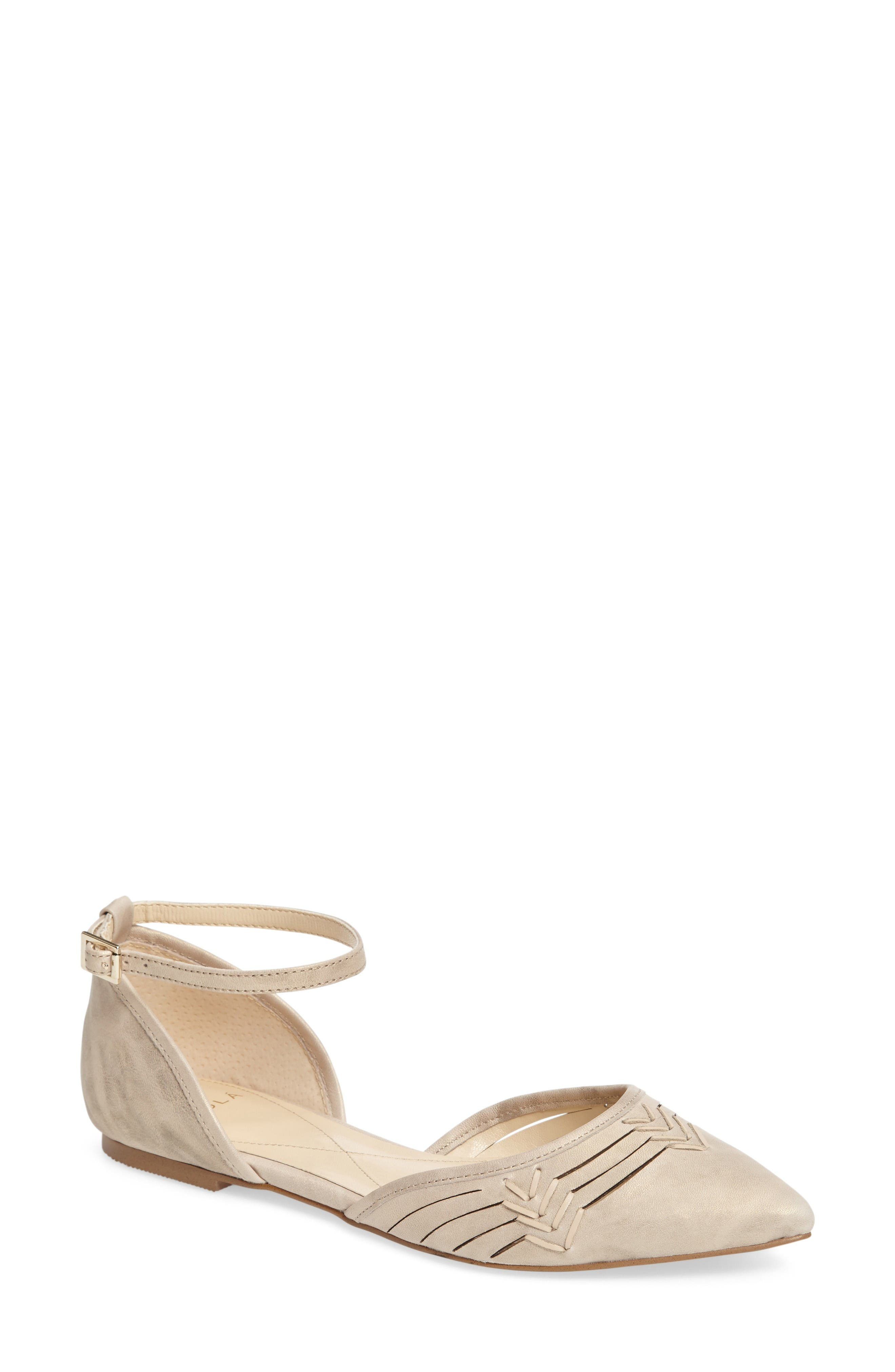 Main Image - Isolá Cellino Ankle Strap Flat (Women)