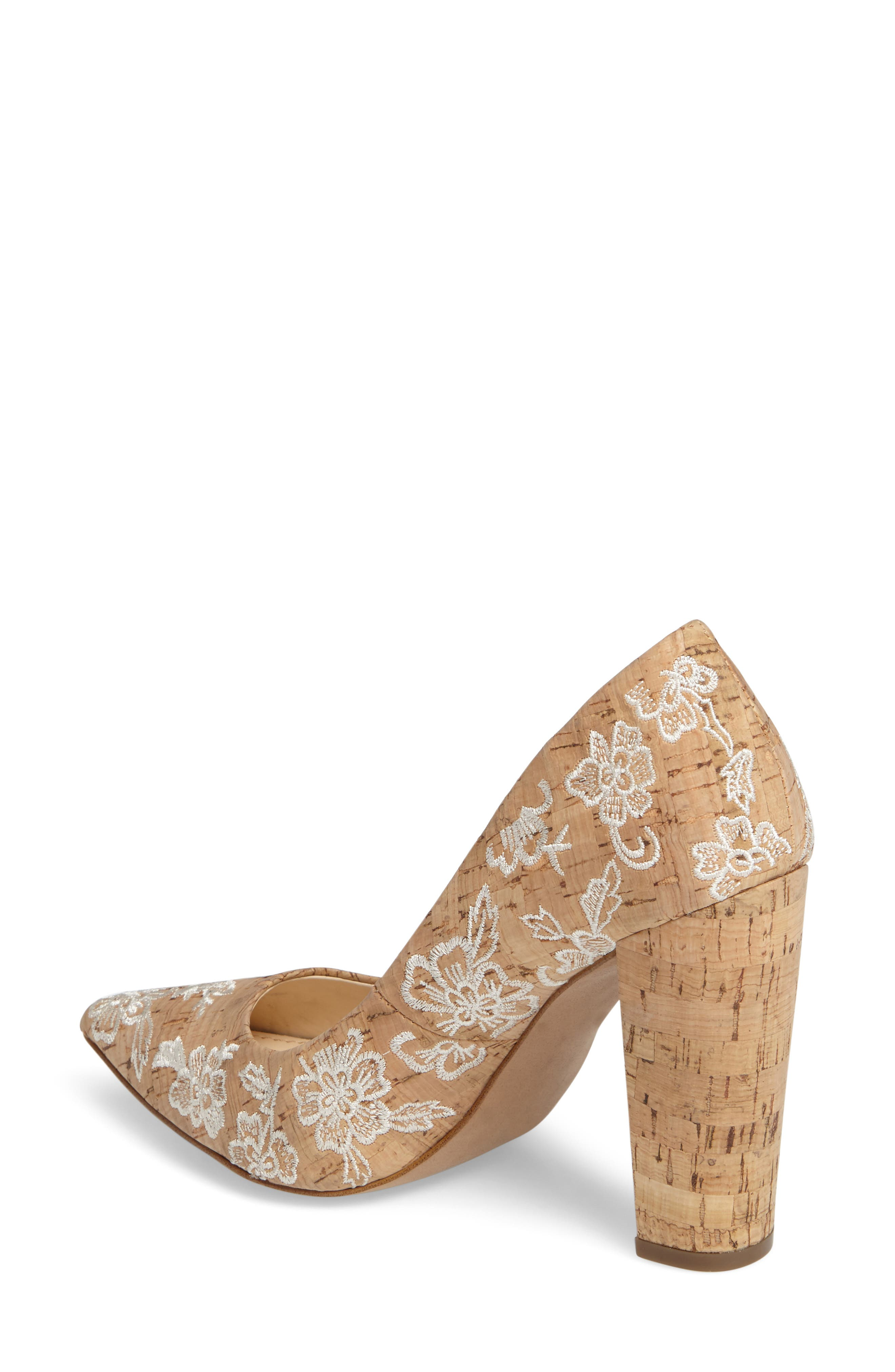 Alternate Image 2  - Jessica Simpson Tanysha Pointy Toe Pump (Women)