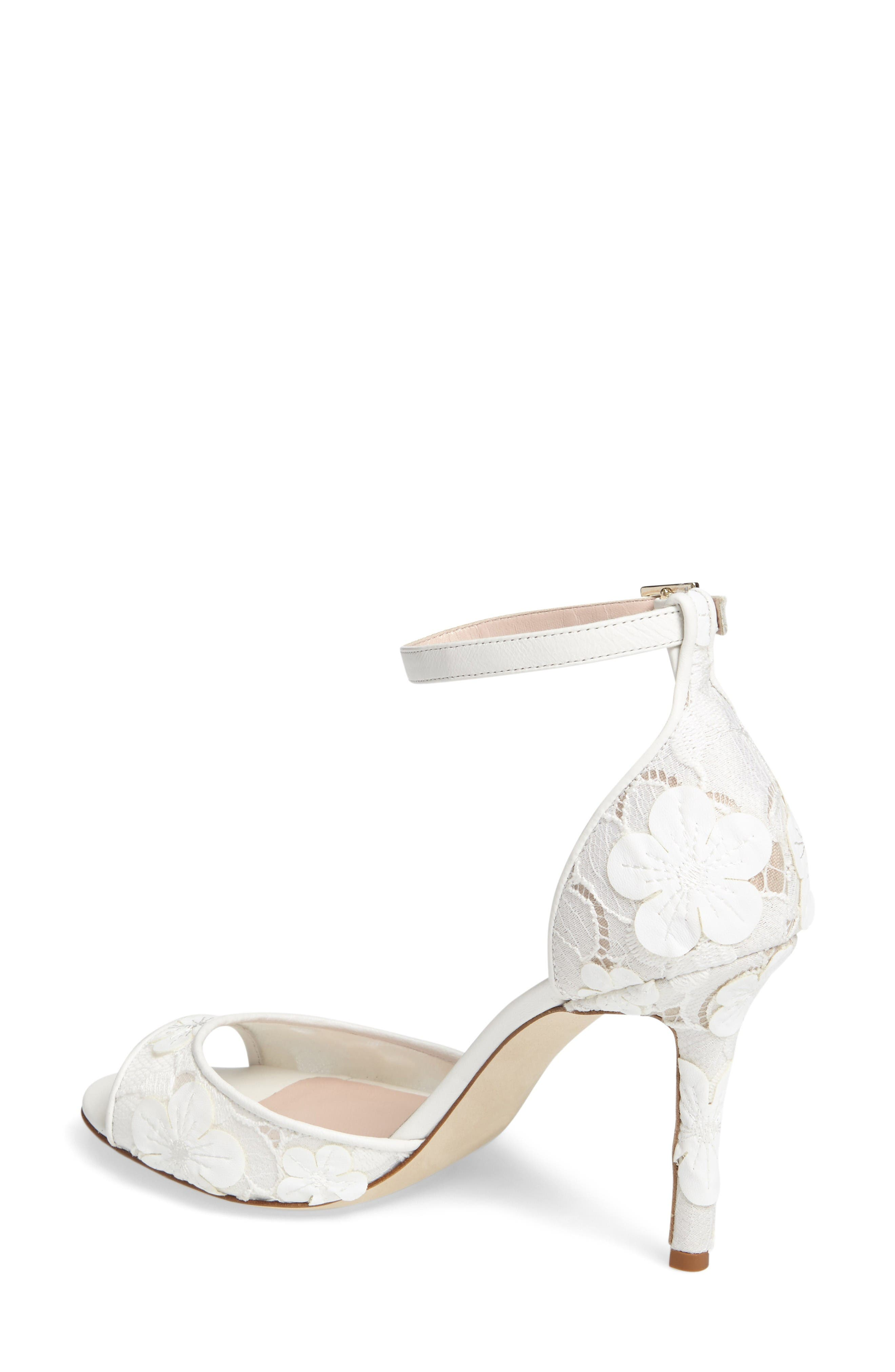 Alternate Image 2  - kate spade new york ideline floral lace sandal (Women)