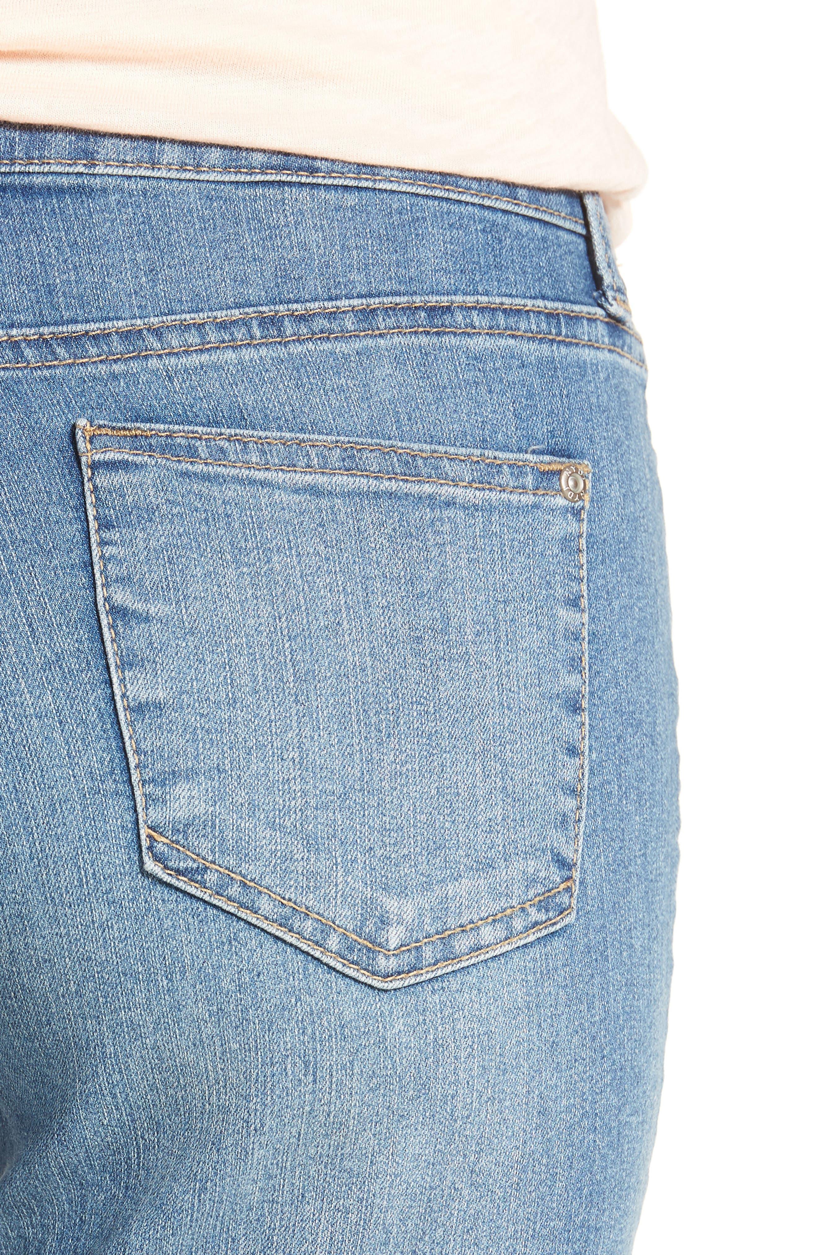 Alternate Image 4  - NYDJ Alina Skinny Jeans (Oxford)