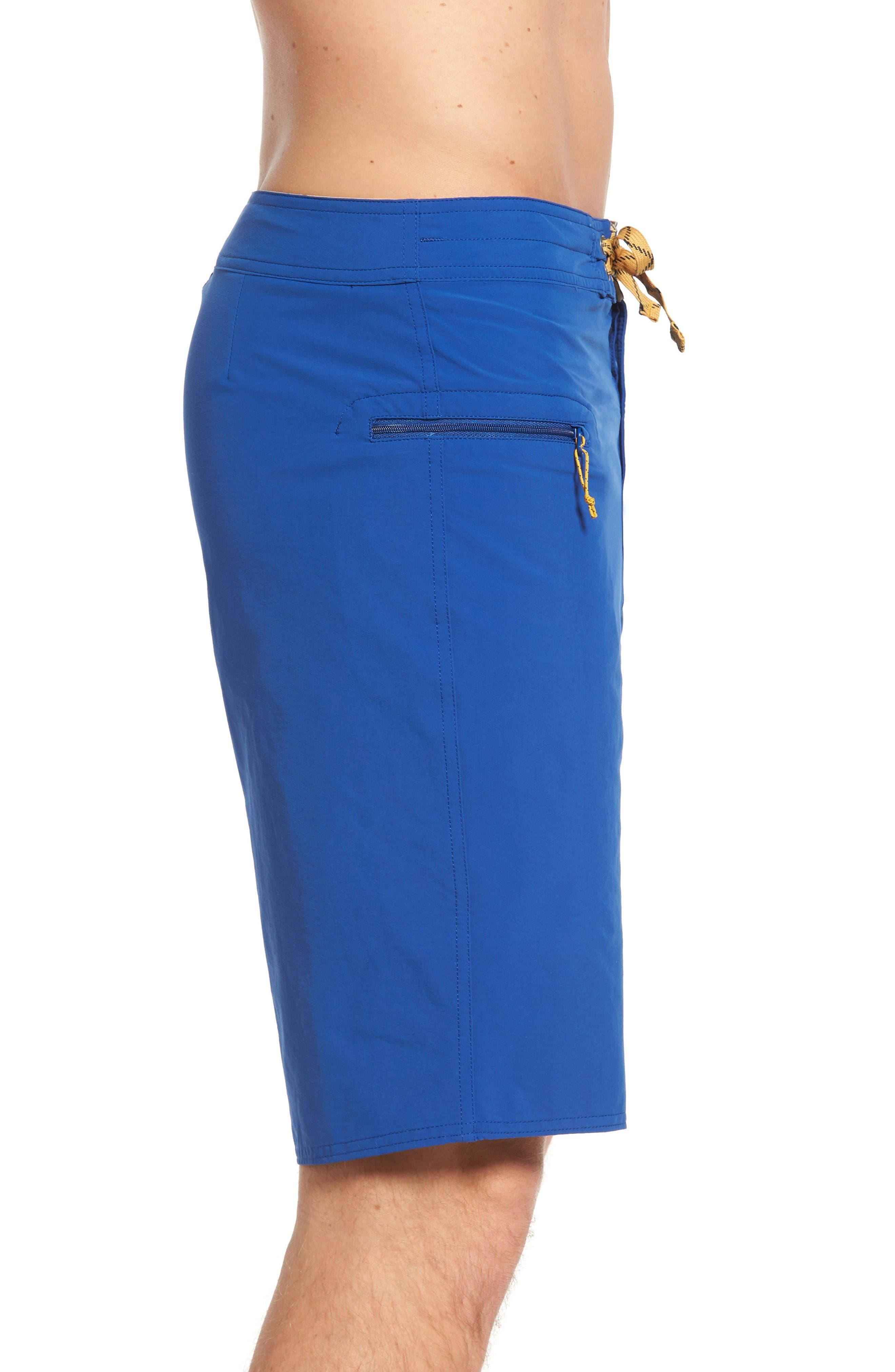 Wavefarer Board Shorts,                             Alternate thumbnail 3, color,                             Blue