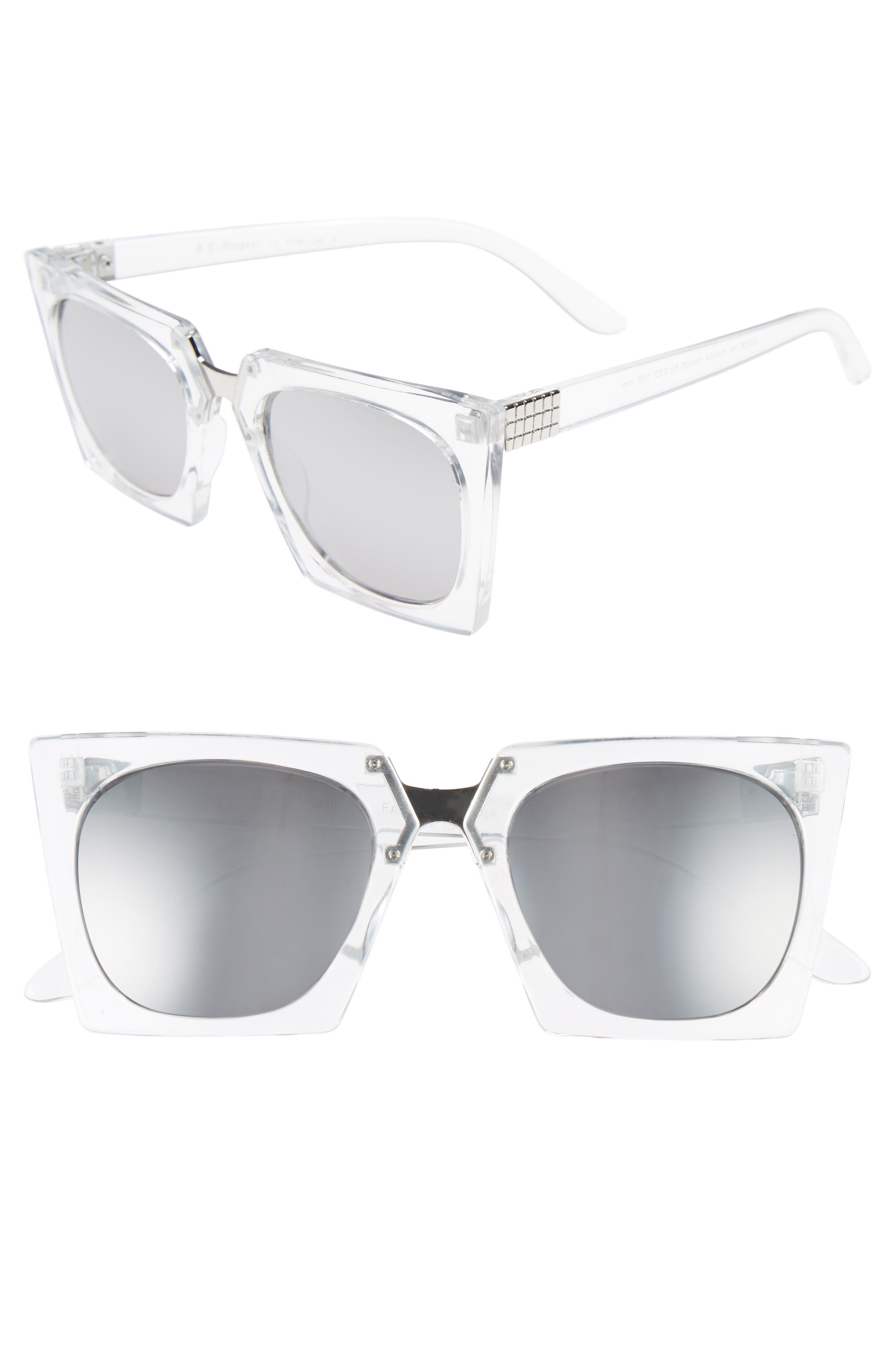 Main Image - A.J. Morgan Cropduster 52mm Sunglasses