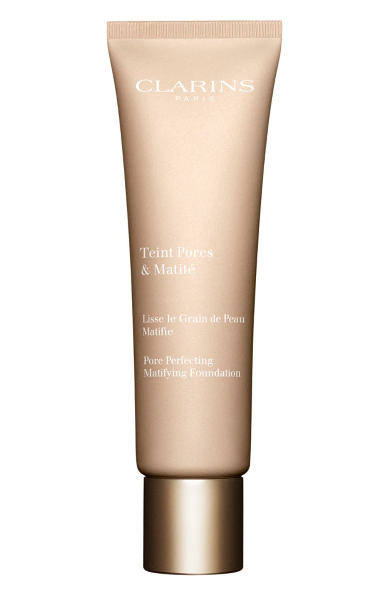 Main Image - Clarins Pore Perfecting Matifying Foundation