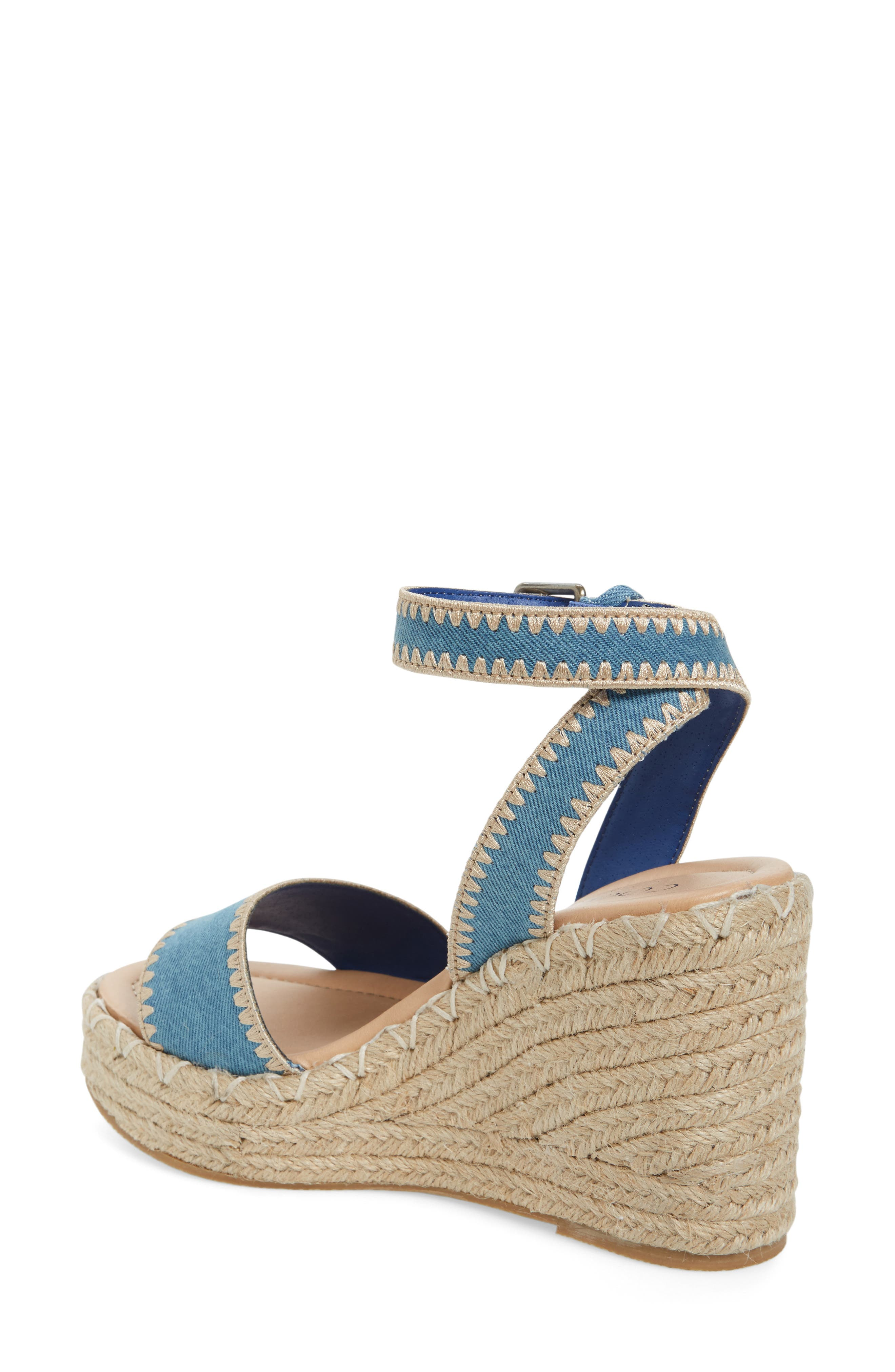 Alternate Image 2  - Coconuts by Matisse Frenchie Wedge Sandal (Women)