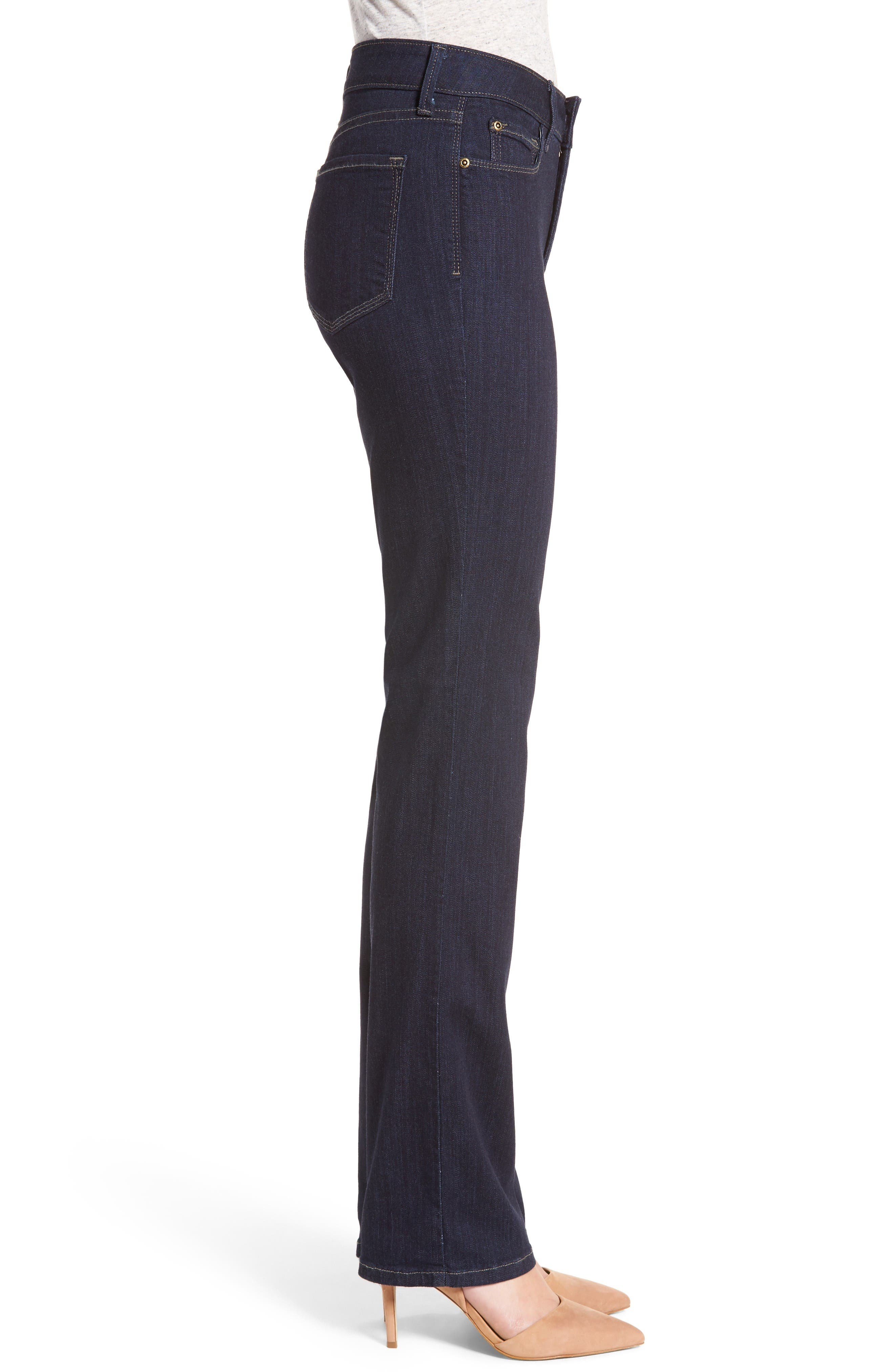 Alternate Image 3  - NYDJ 'Marilyn' Stretch Straight Leg Jeans
