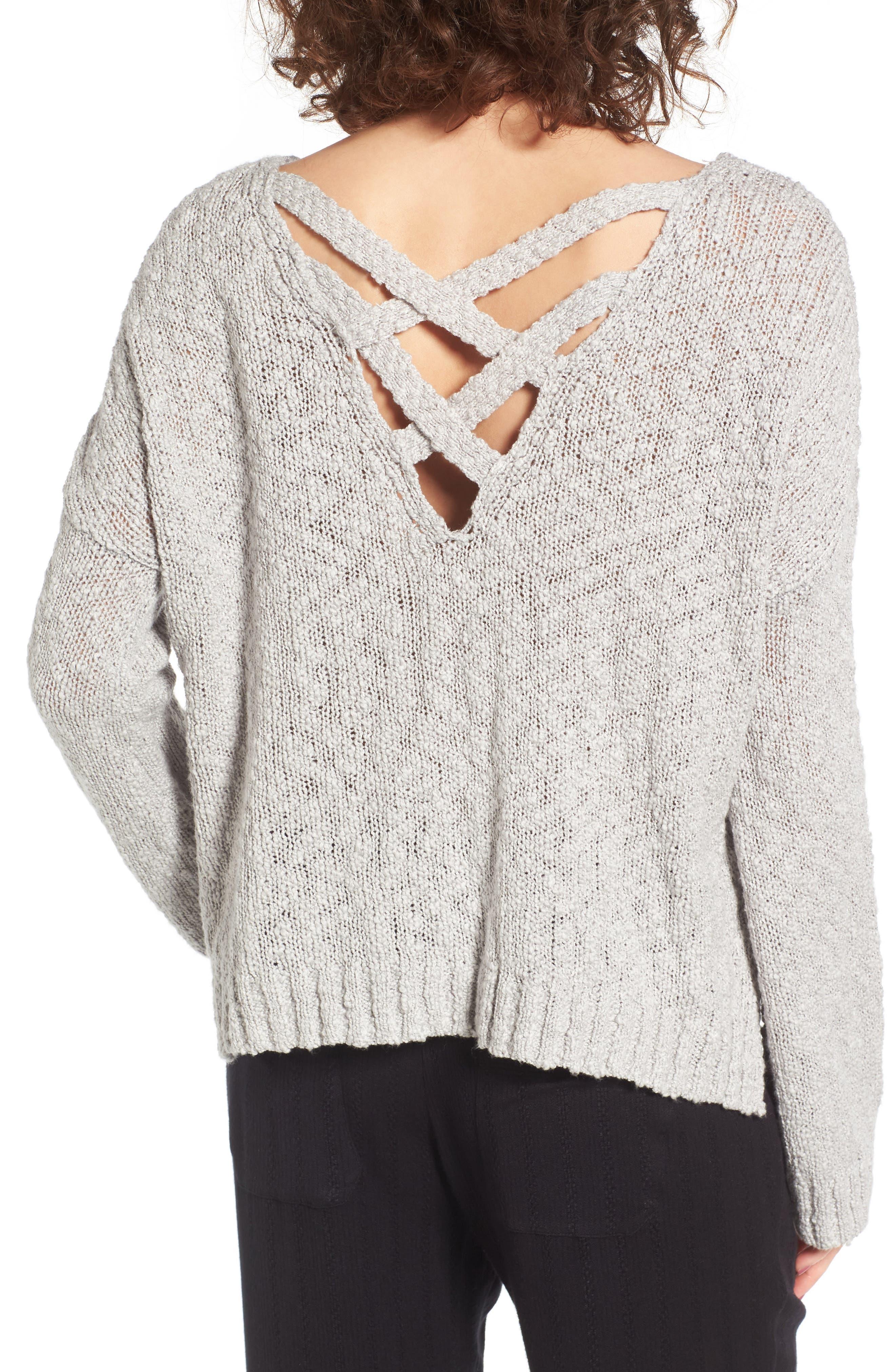 Alternate Image 2  - Roxy Don't Think Twice Sweater