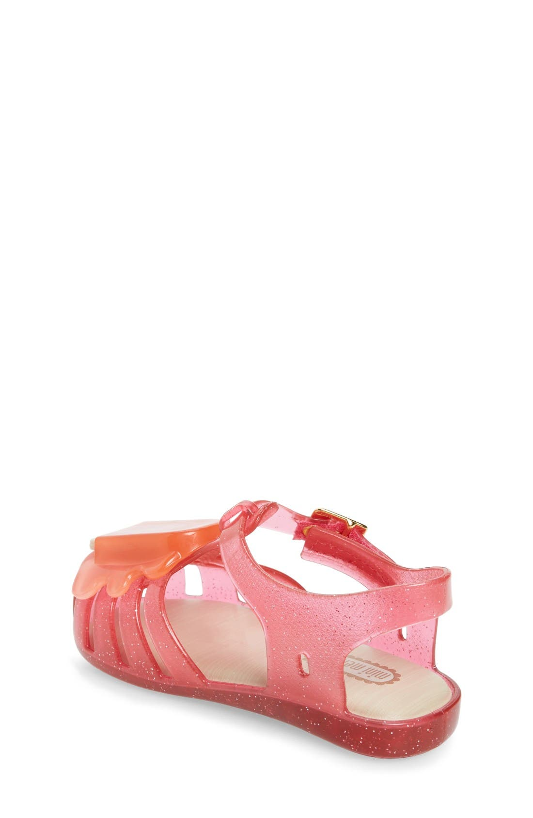 Alternate Image 2  - Mini Melissa 'Aranha' Mary Jane Sandal (Walker & Toddler)