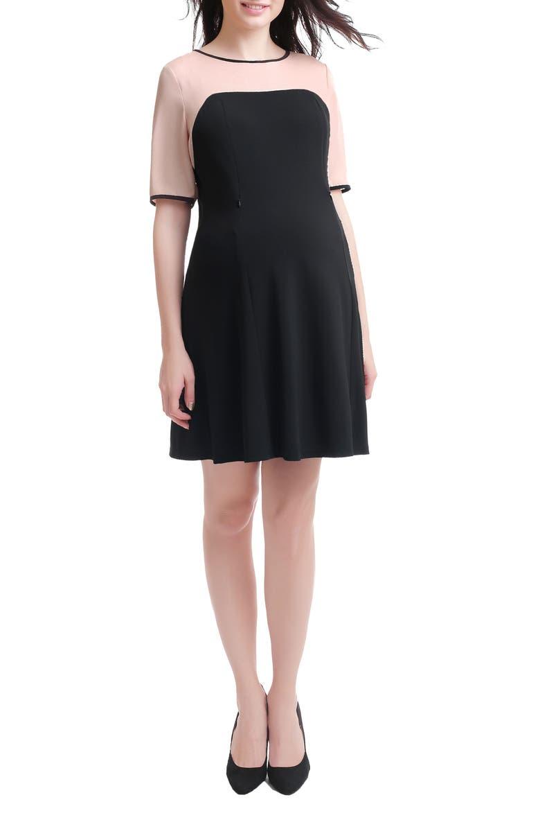 Kimi  Kai Maggie Maternity/Nursing Shift Dress