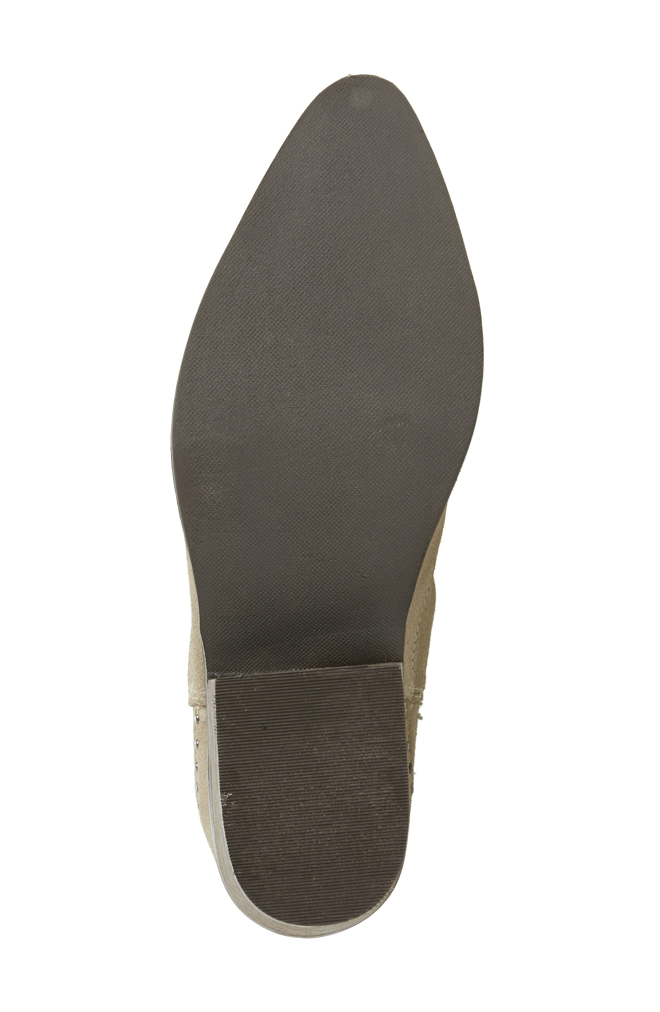 Backstage Bootie,                             Alternate thumbnail 4, color,                             Taupe Leather