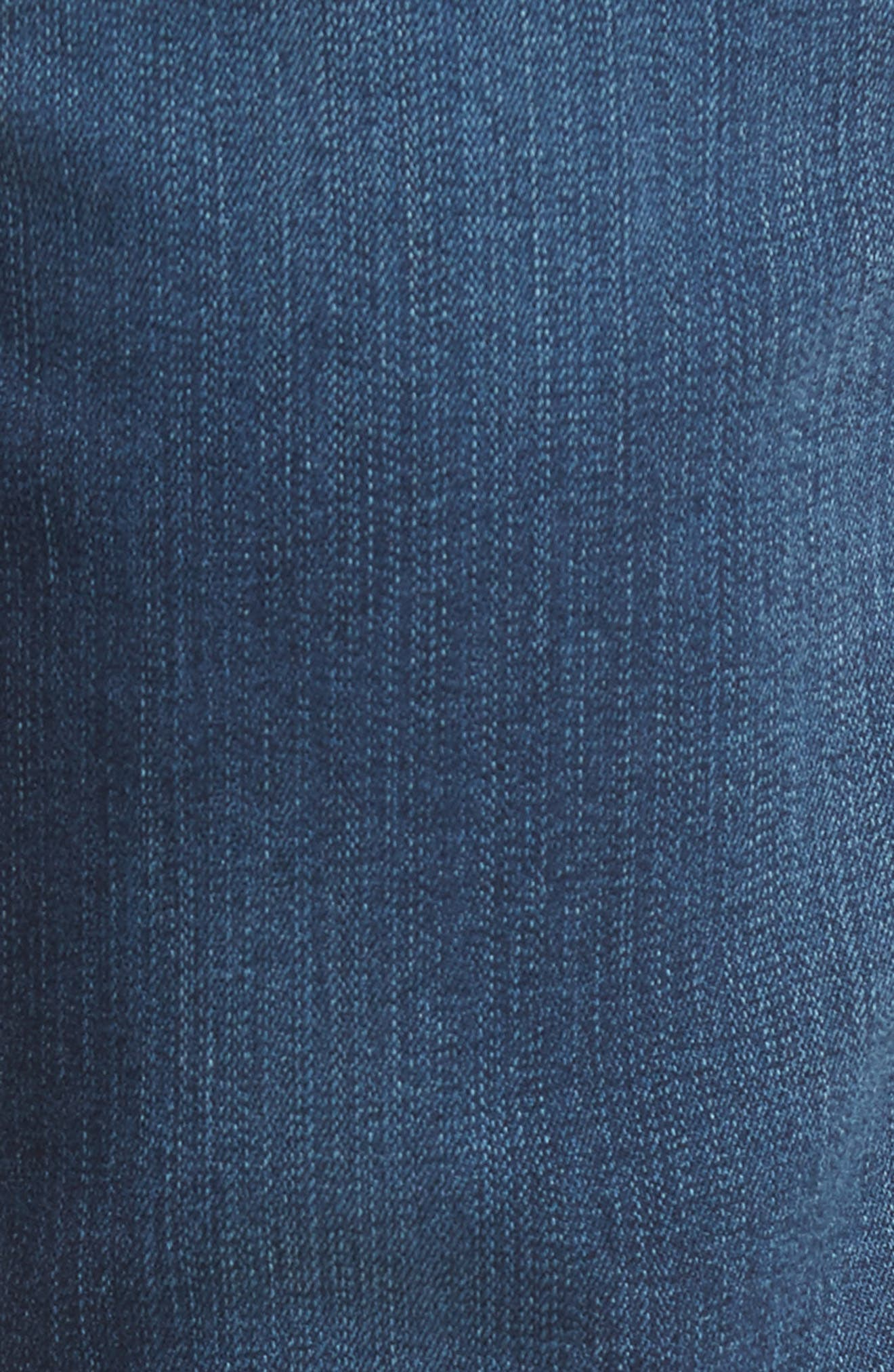 Blake Slim Fit Jeans,                             Alternate thumbnail 5, color,                             Napoleon Blue