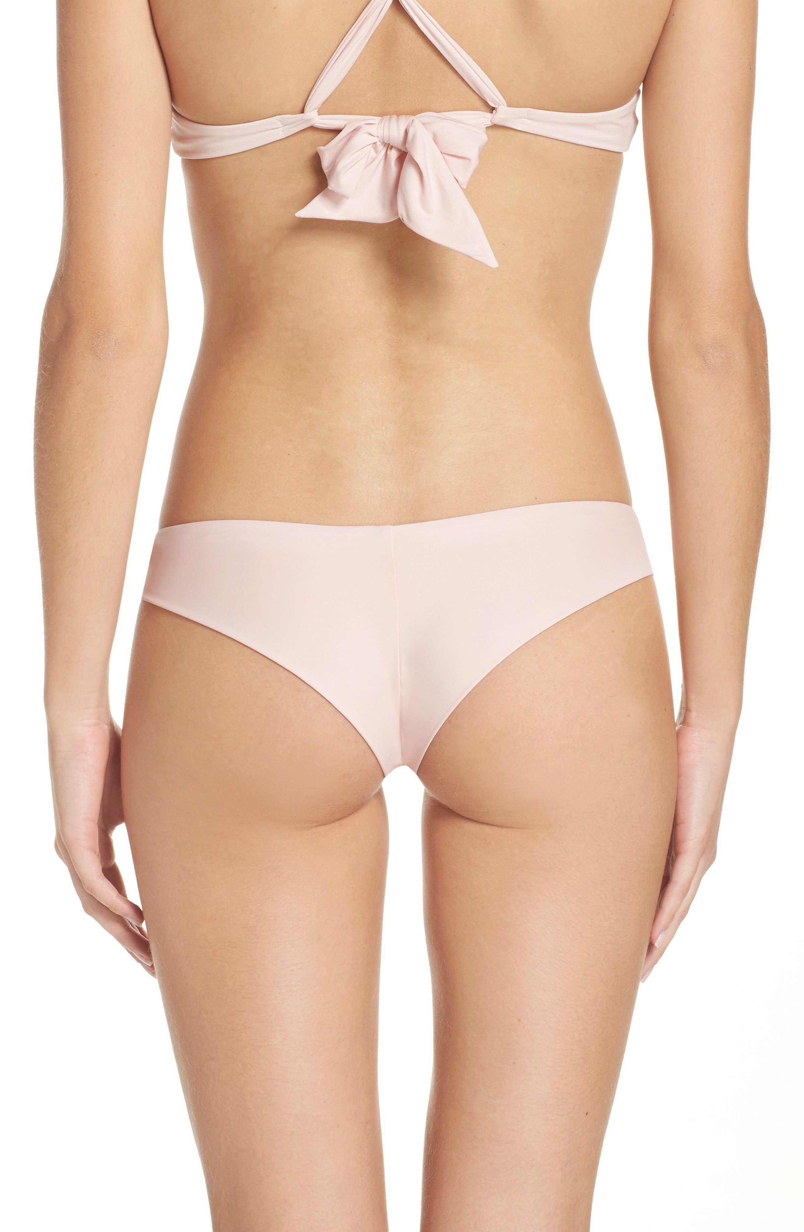 Marina Bikini Bottoms,                         Main,                         color, Blush