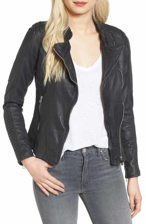Leather Coats & Jackets for Women | Nordstrom | Nordstrom