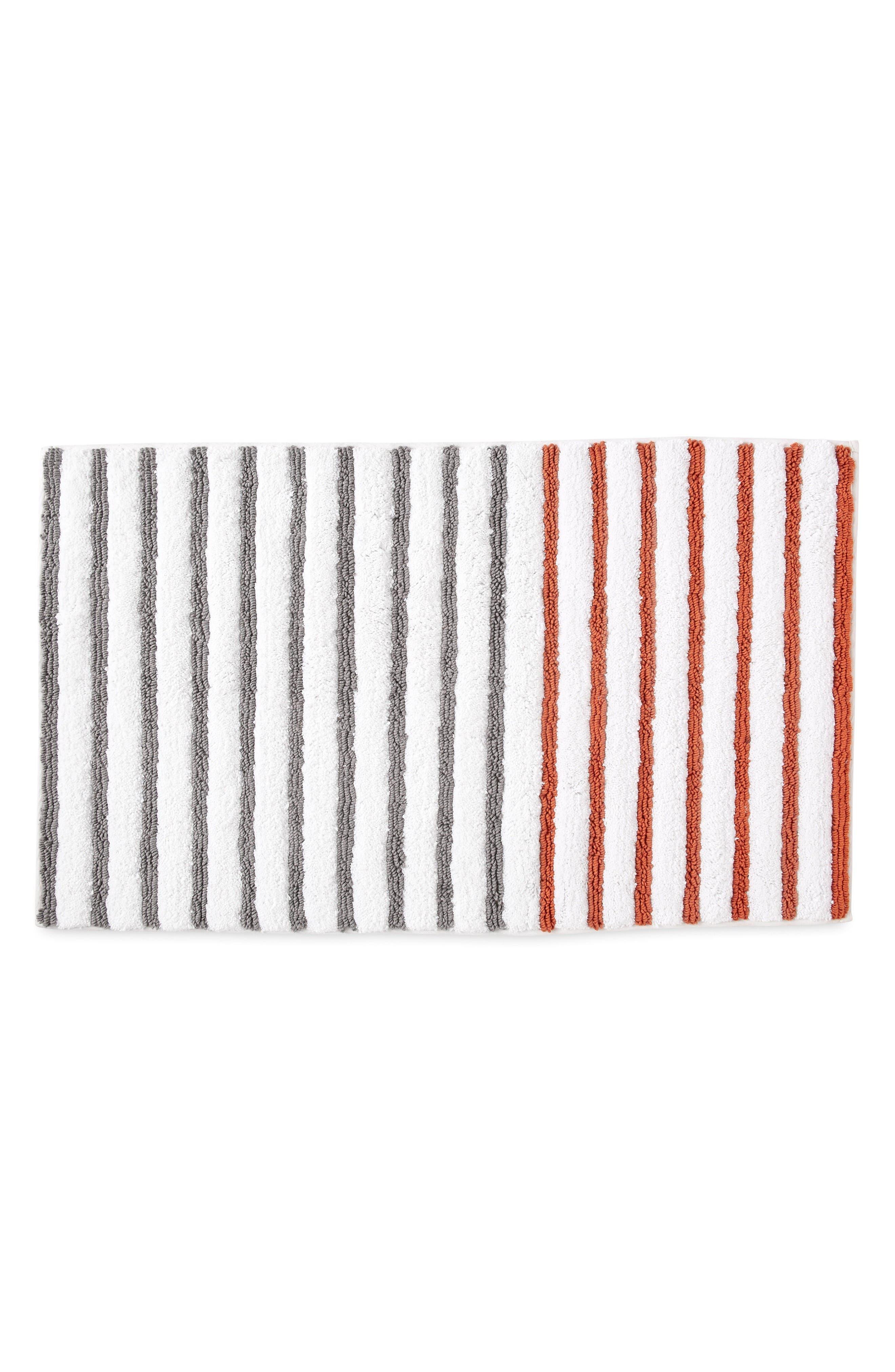 Main Image - DKNY Parson Stripe Bath Rug