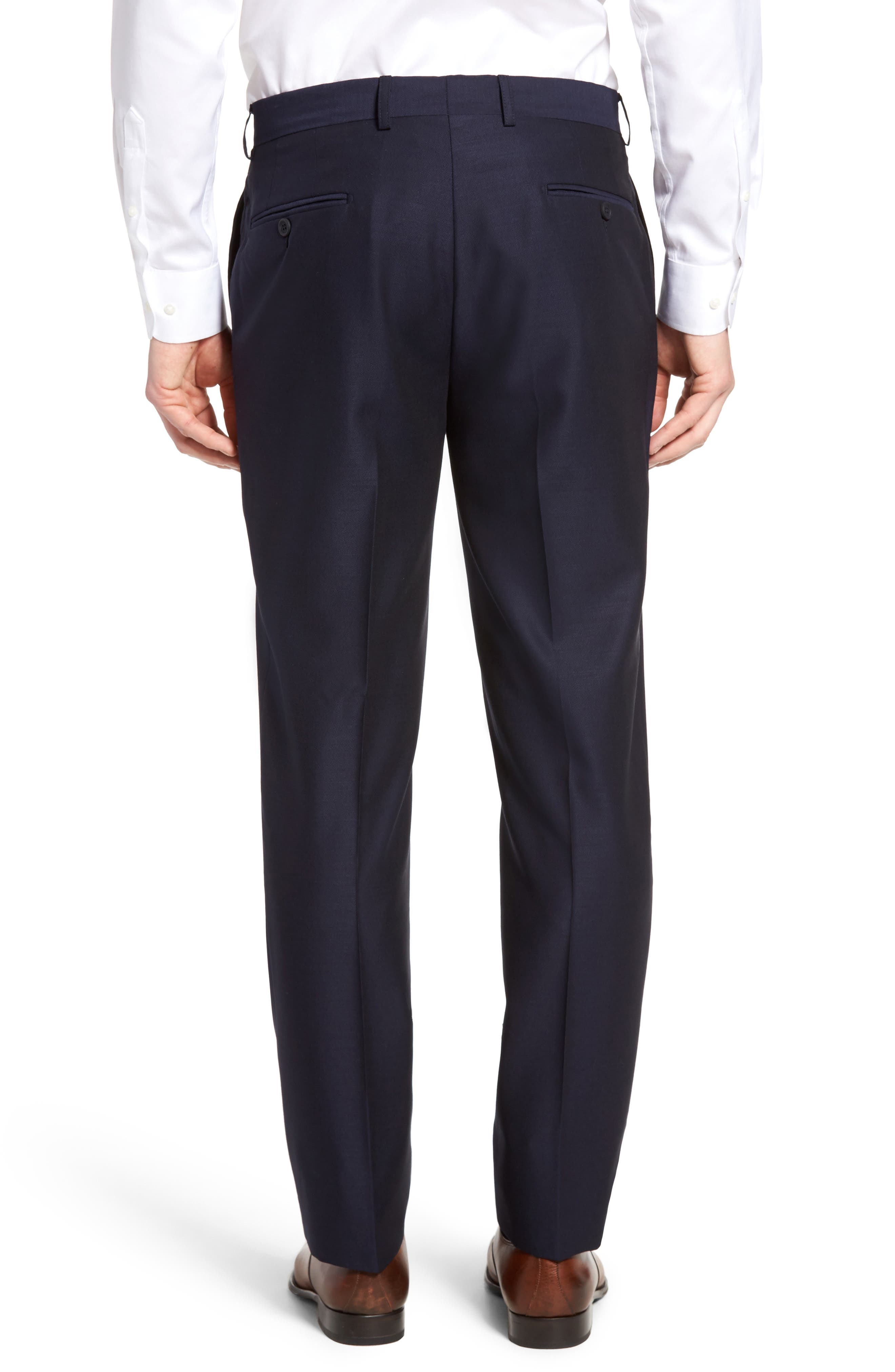 Alternate Image 2  - Bensol Pin Dot Wool Trousers