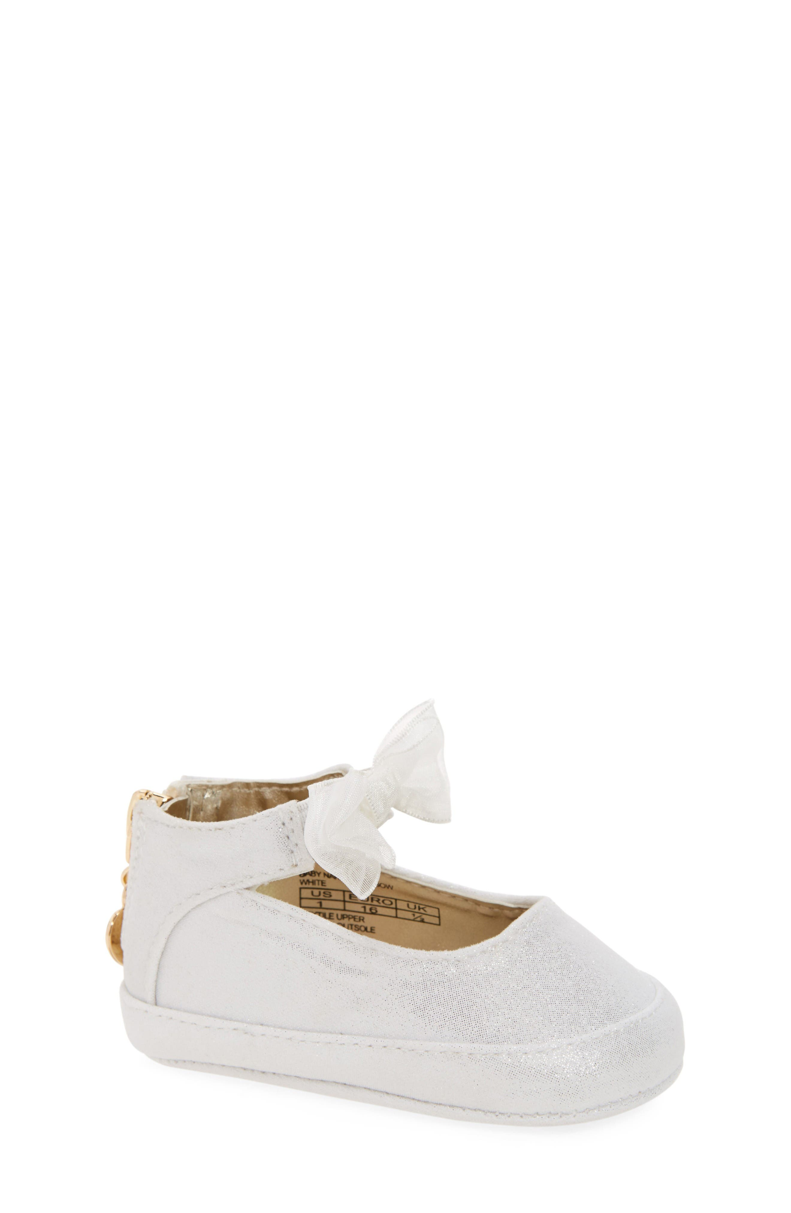Stuart Weitzman Baby Nantucket Crib Shoe (Baby)