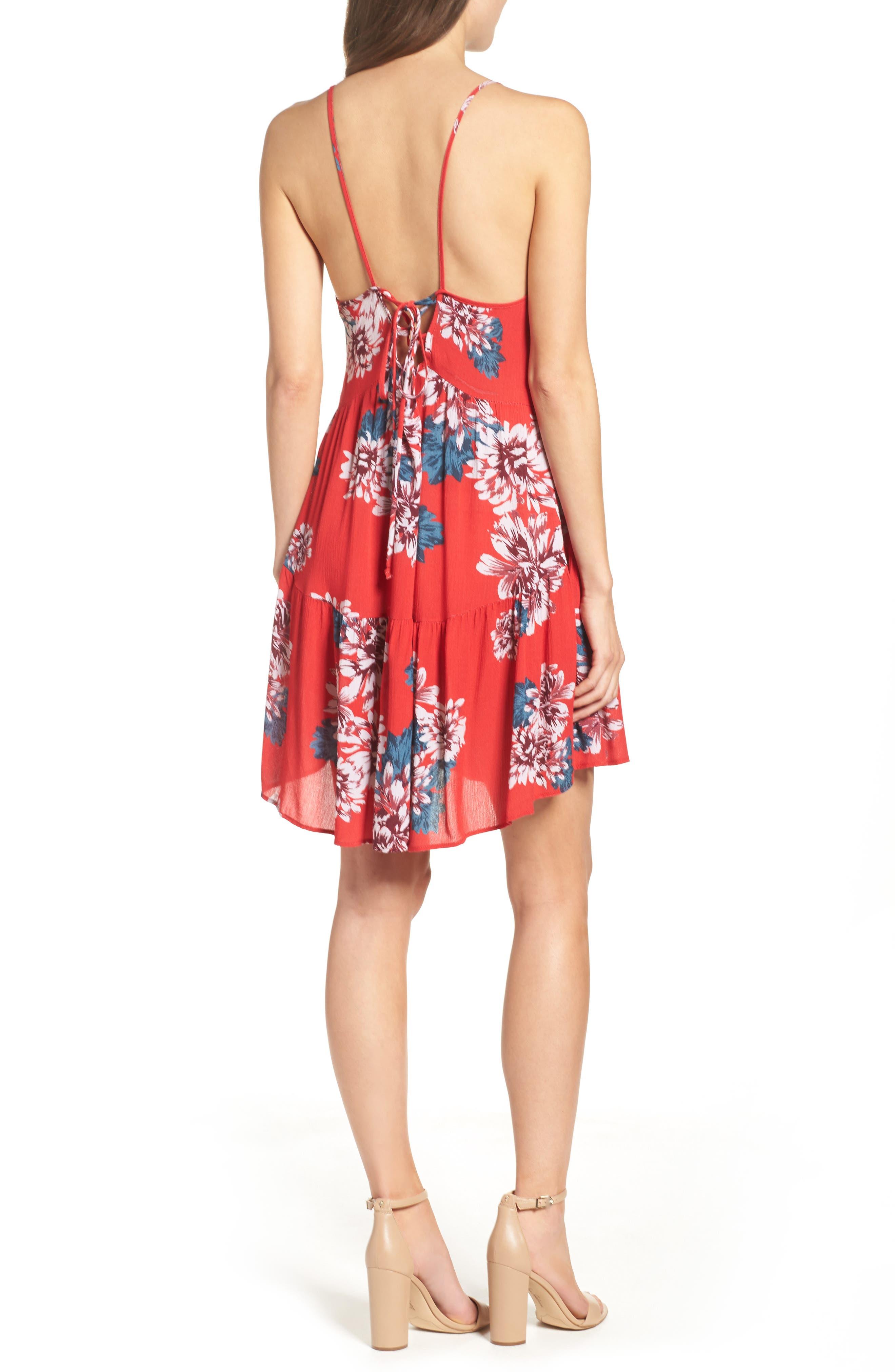 Alternate Image 2  - Mary & Mabel Floral Dress