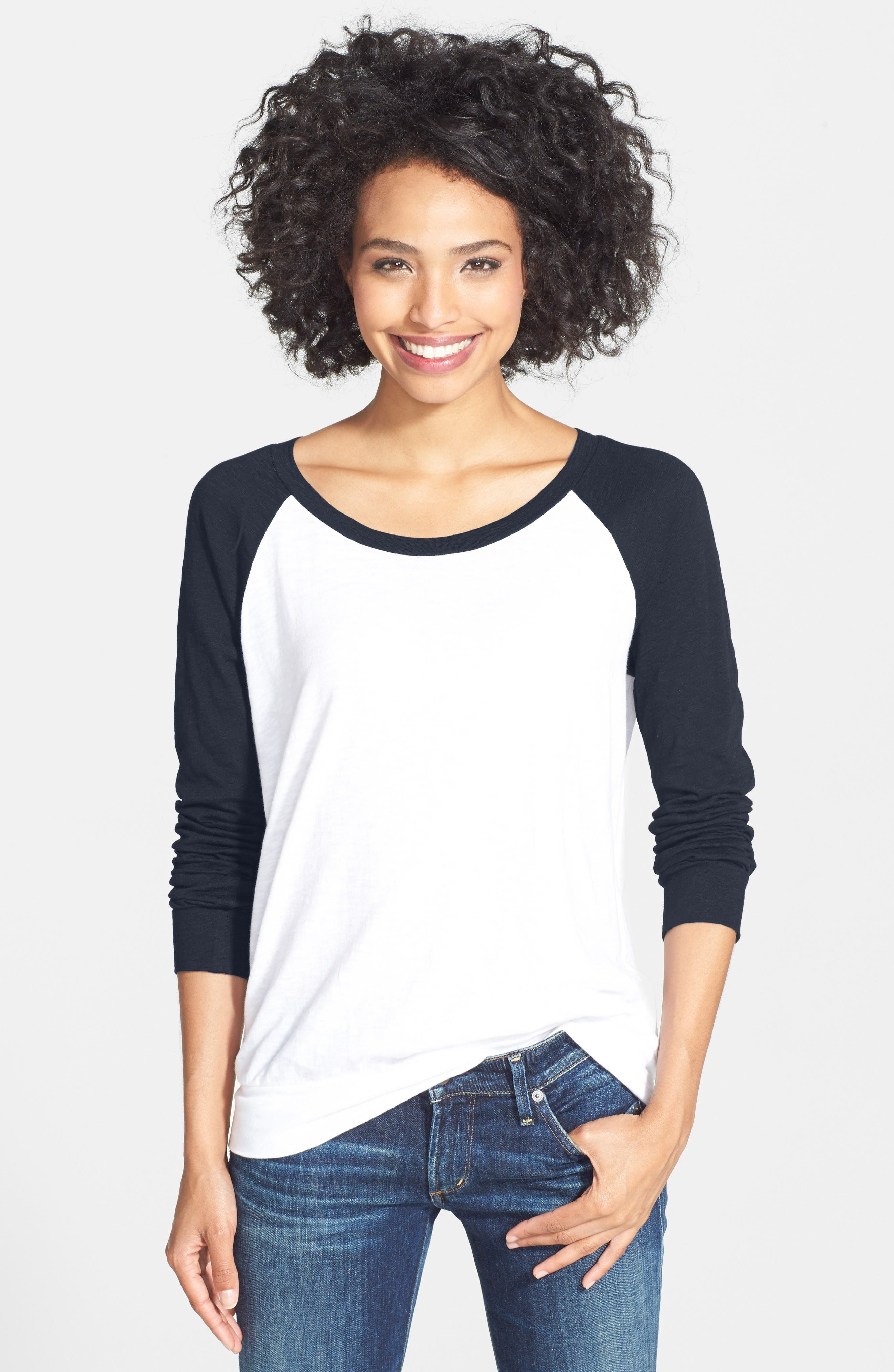 d7f859a6 Long Sleeve Petite Tops | Nordstrom